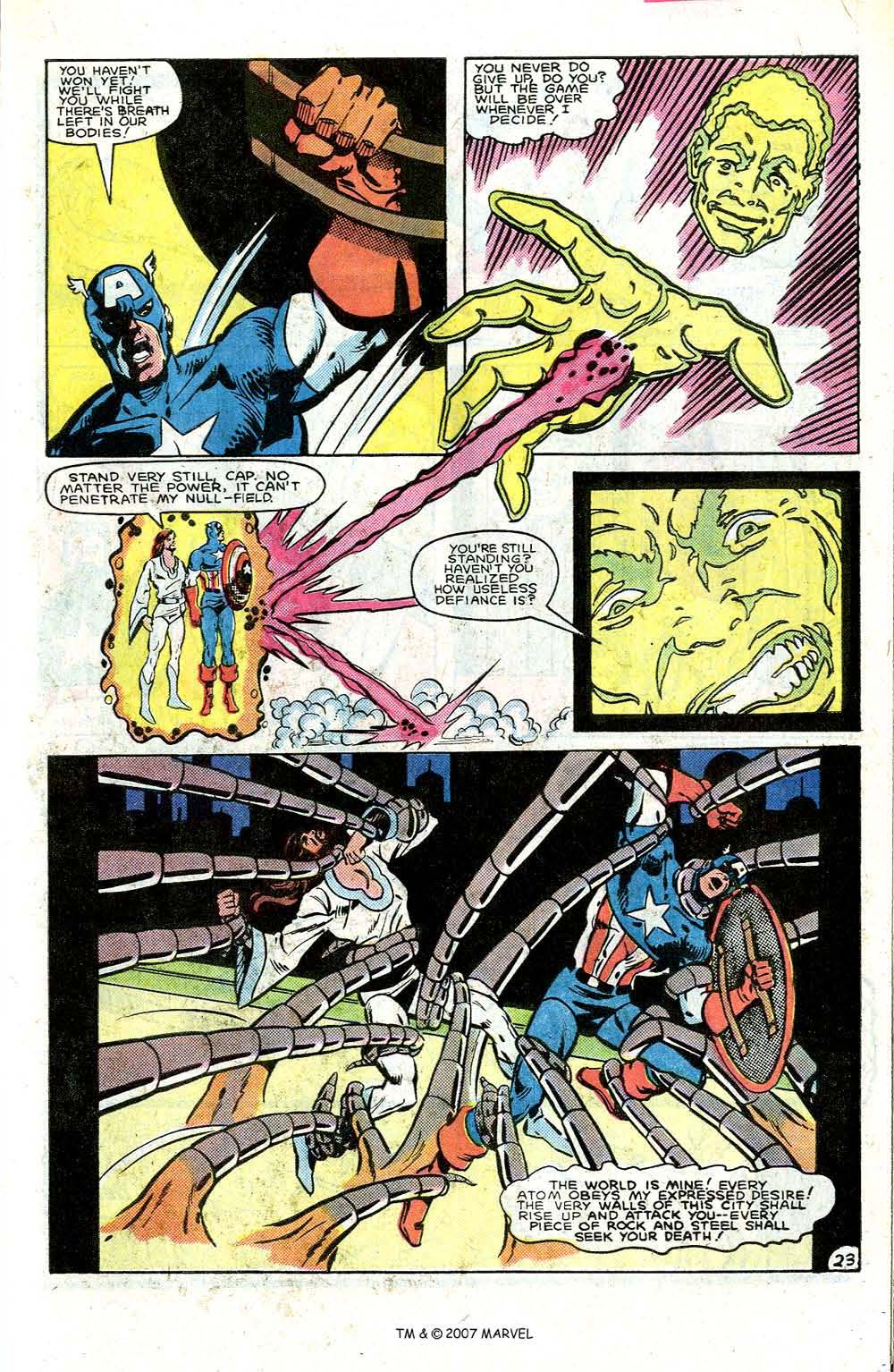 Read online Captain America (1968) comic -  Issue # _Annual 7 - 31