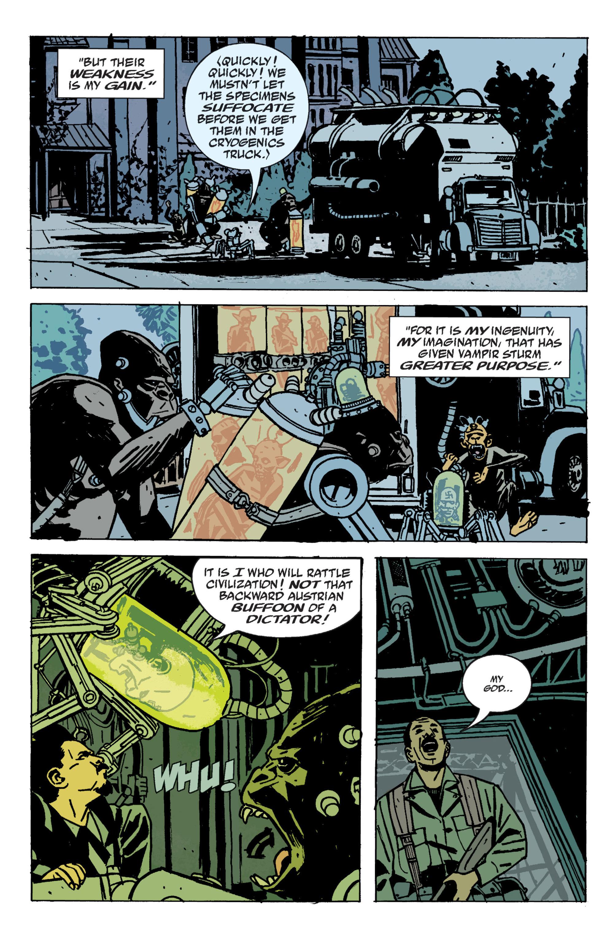 Read online B.P.R.D. (2003) comic -  Issue # TPB 9 - 120