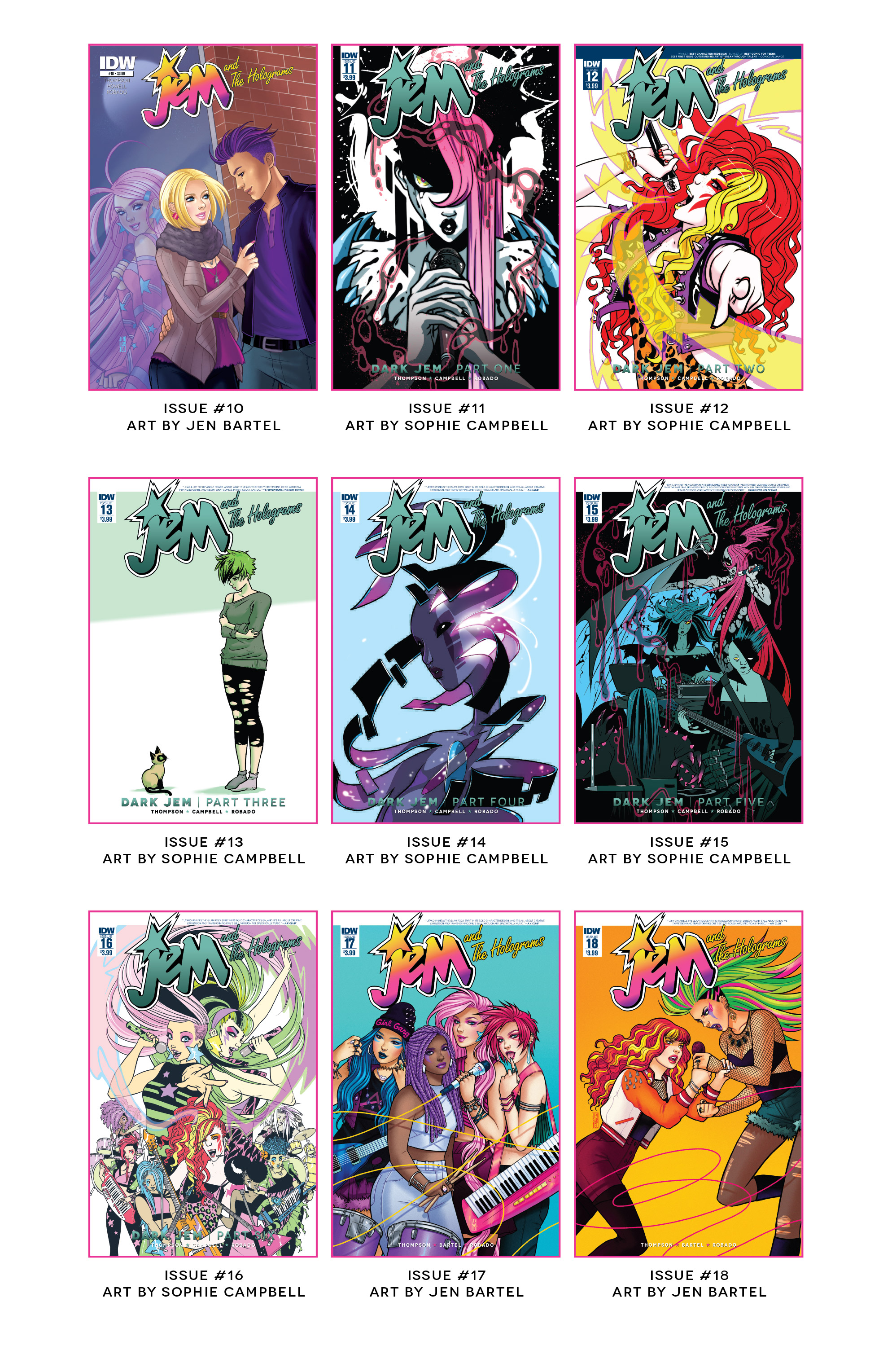 Read online Jem and The Holograms comic -  Issue #26 - 32