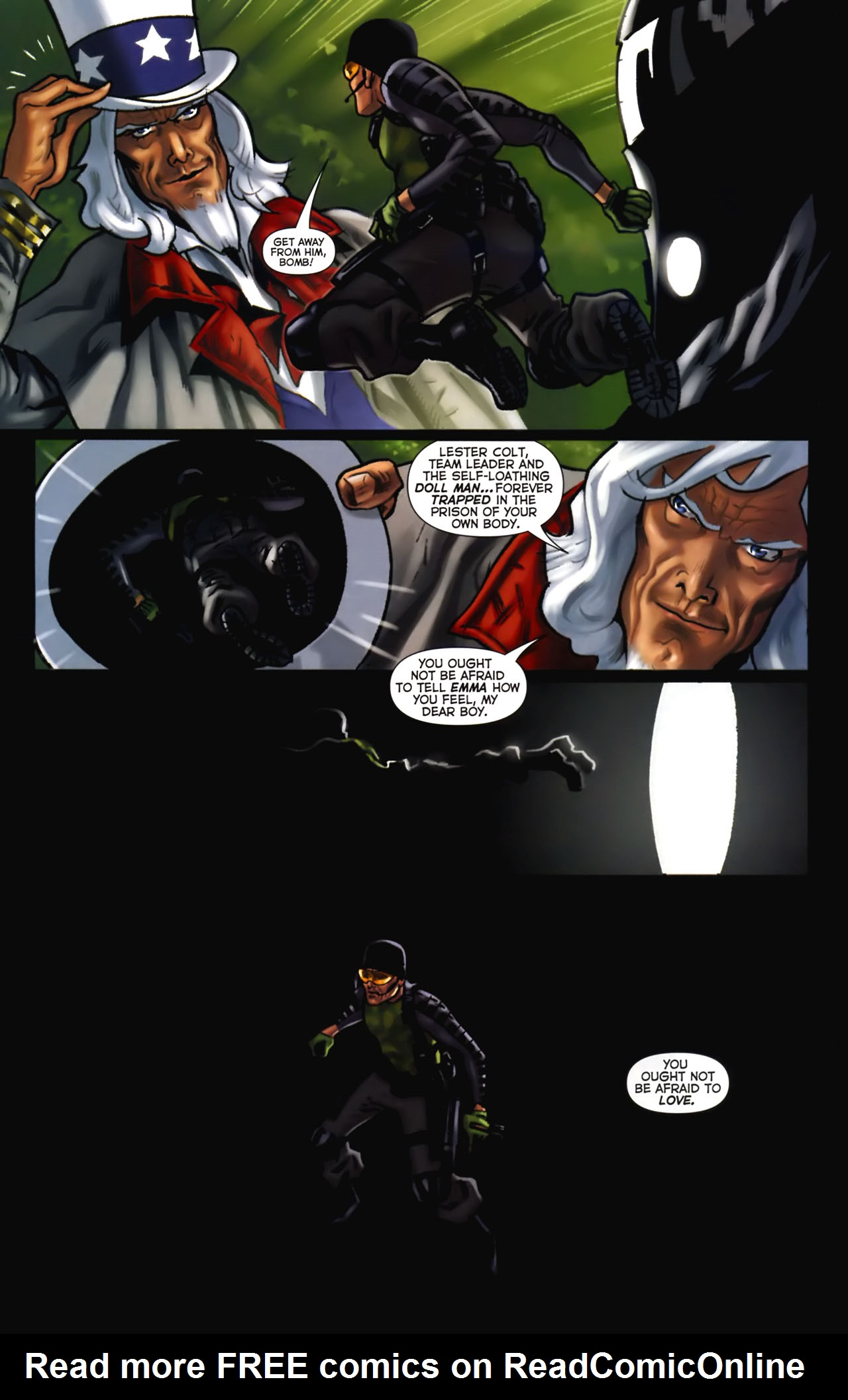 Read online Uncle Sam and the Freedom Fighters (2006) comic -  Issue #2 - 9