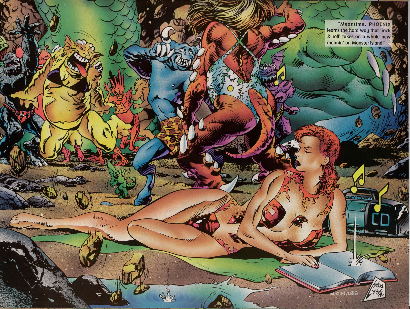 Read online Marvel Swimsuit Special comic -  Issue #2 - 29