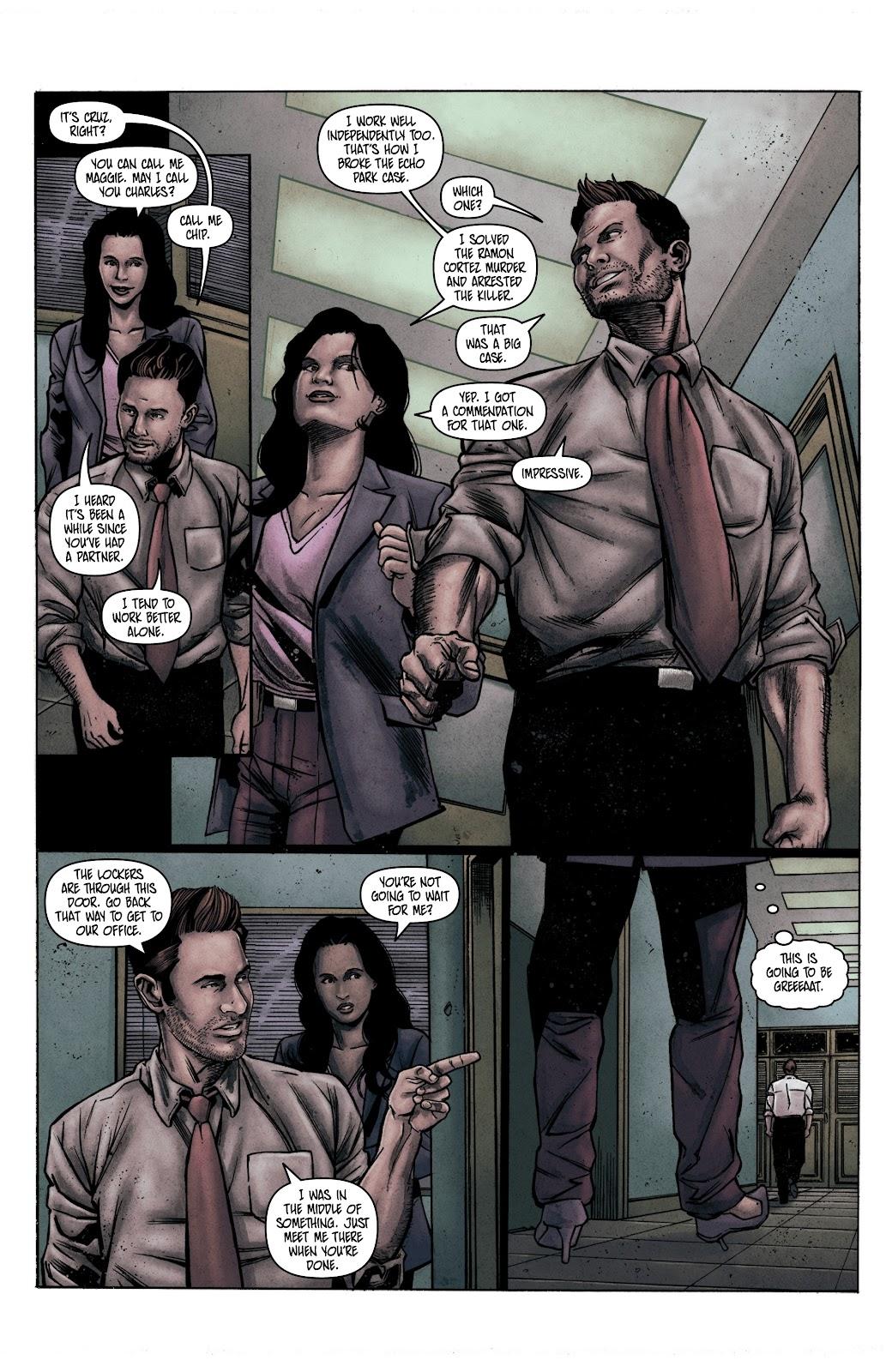 Read online Vindication comic -  Issue #1 - 11