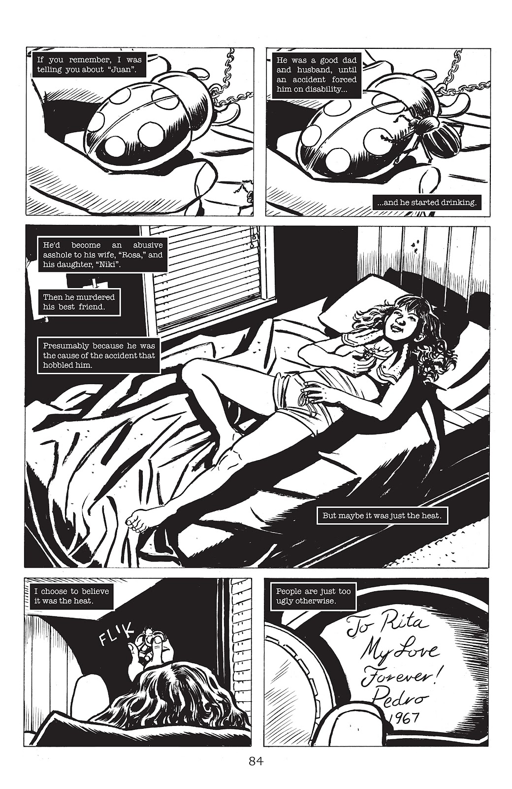 Read online Lodger comic -  Issue #5 - 6