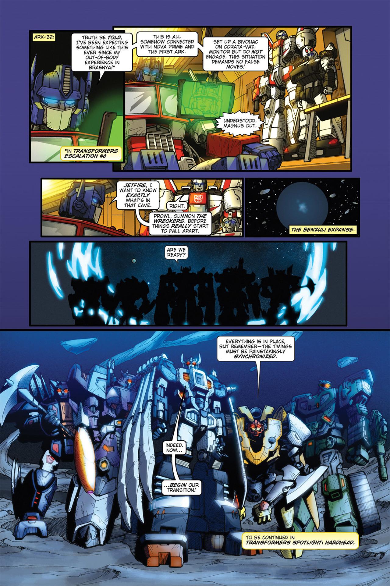 Read online Transformers Spotlight: Cyclonus comic -  Issue # Full - 26