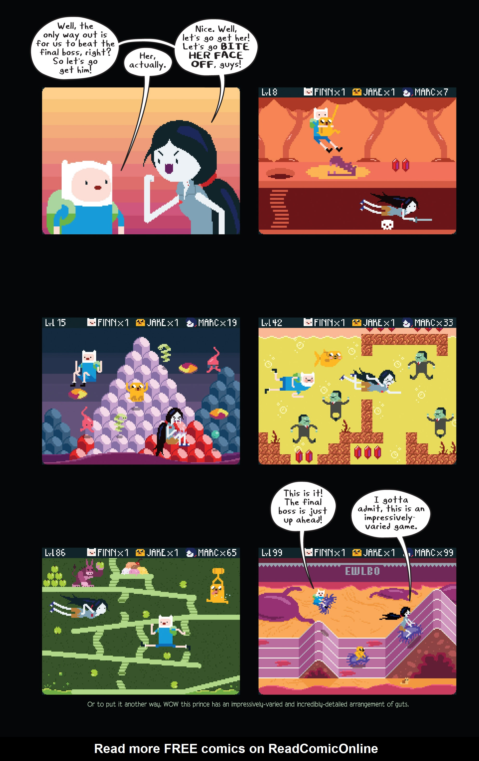 Read online Adventure Time comic -  Issue #11 - 17