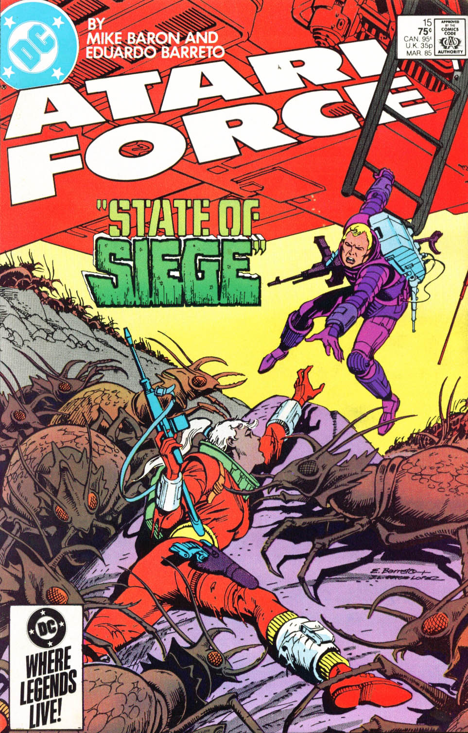Read online Atari Force (1984) comic -  Issue #15 - 2