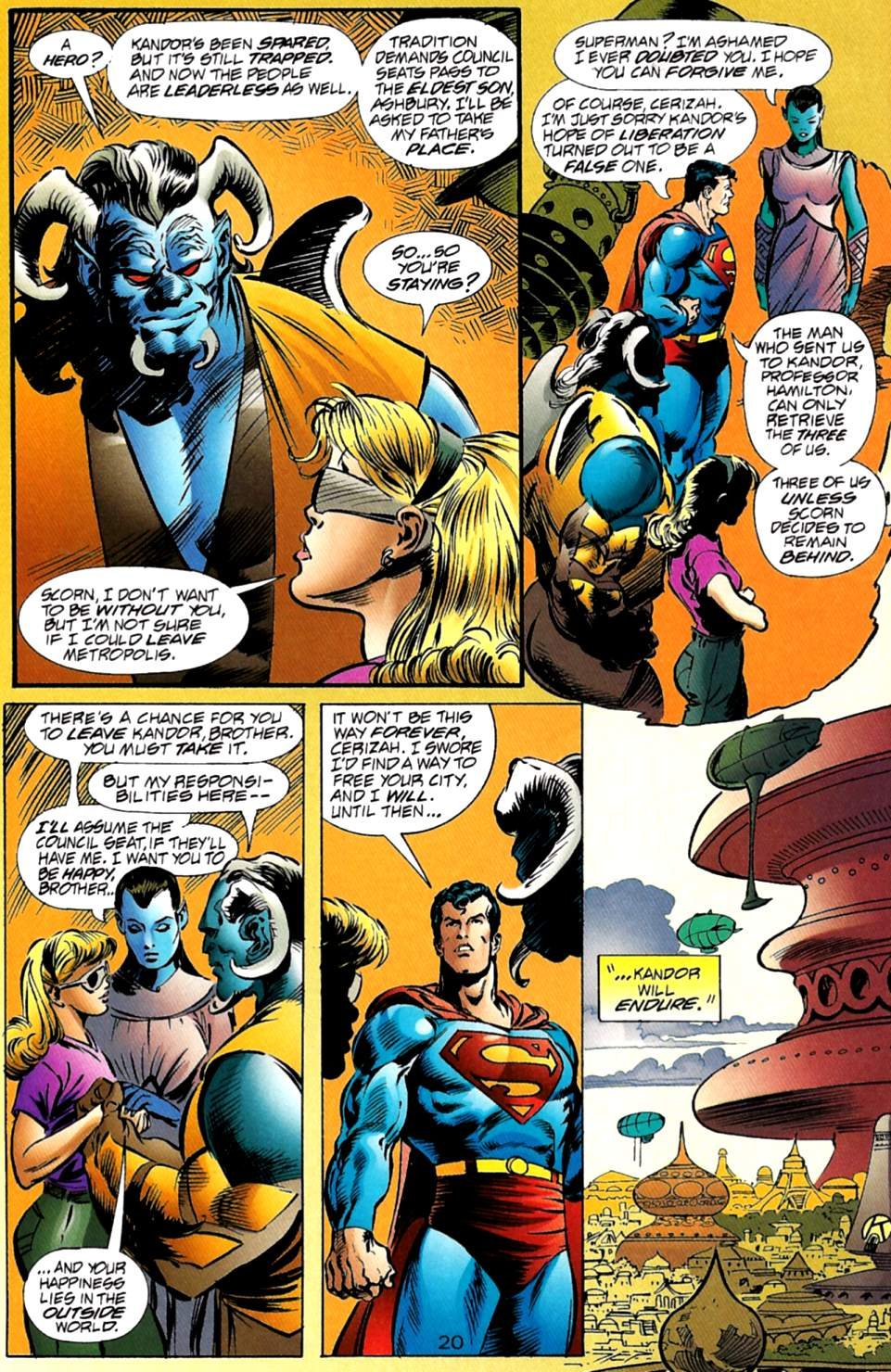 Read online Adventures of Superman (1987) comic -  Issue #563 - 20