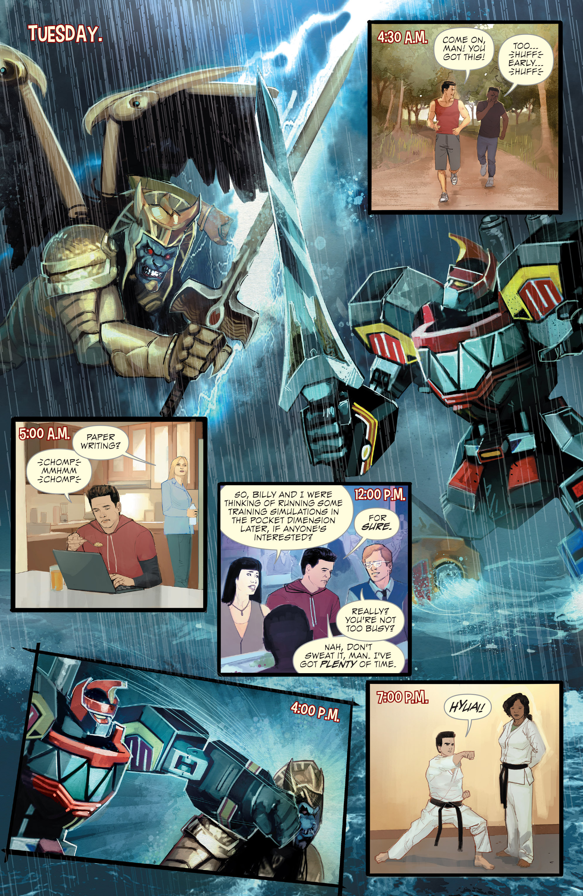 Read online Mighty Morphin Power Rangers comic -  Issue # _Annual 1 - 4