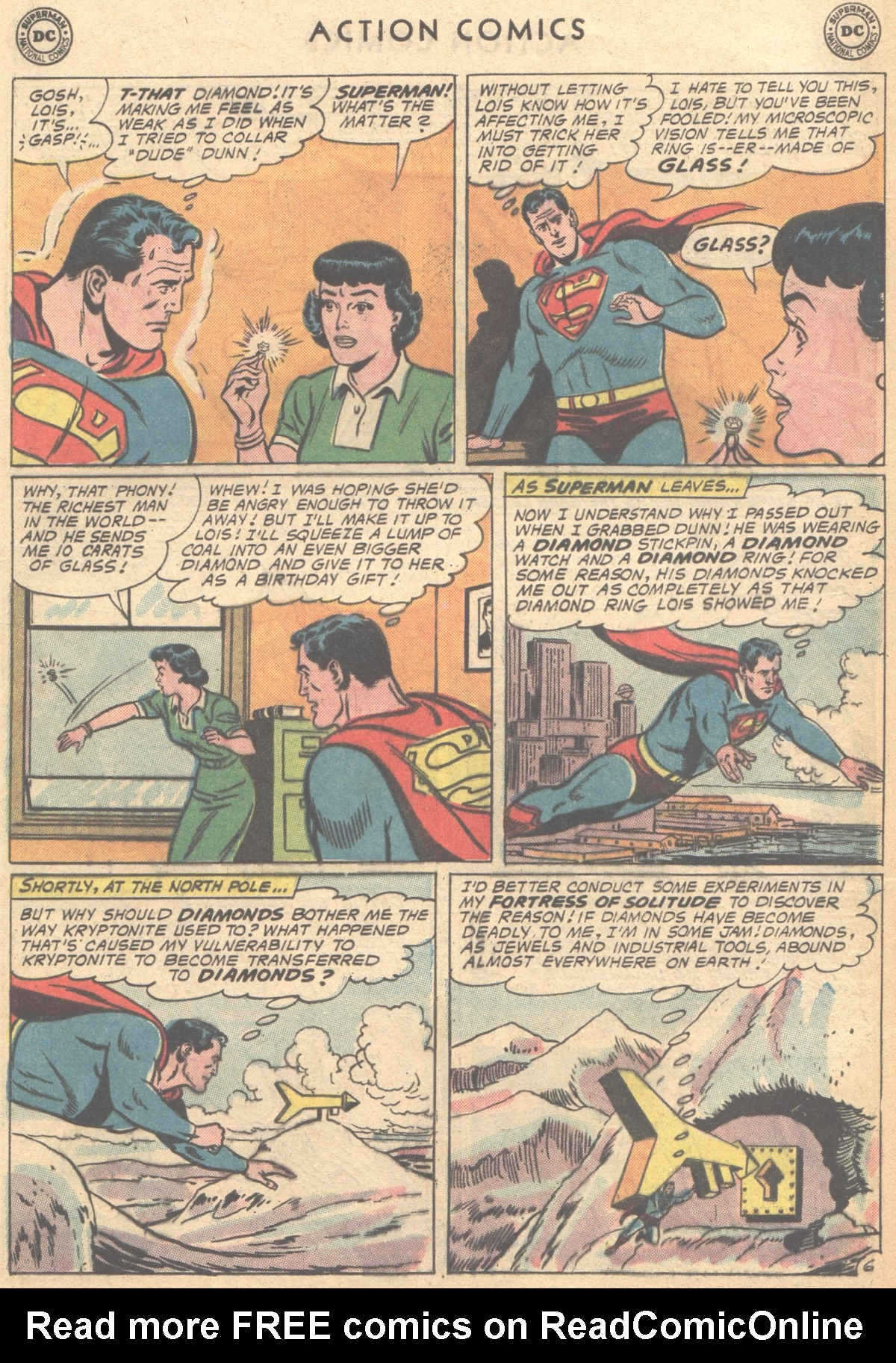 Read online Action Comics (1938) comic -  Issue #291 - 8