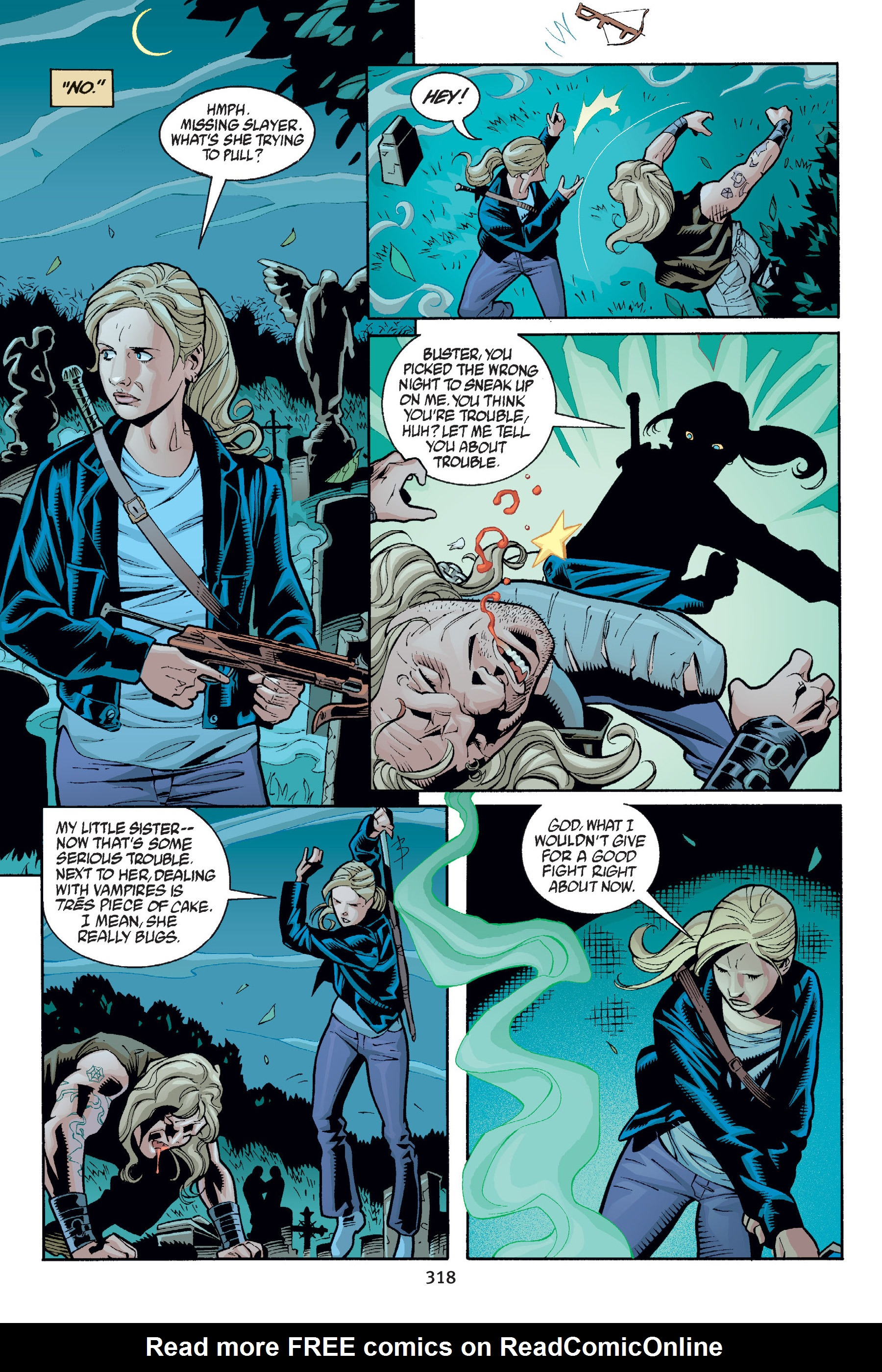 Read online Buffy the Vampire Slayer: Omnibus comic -  Issue # TPB 6 - 315