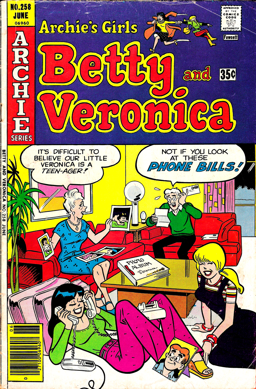 Read online Archie's Girls Betty and Veronica comic -  Issue #258 - 1