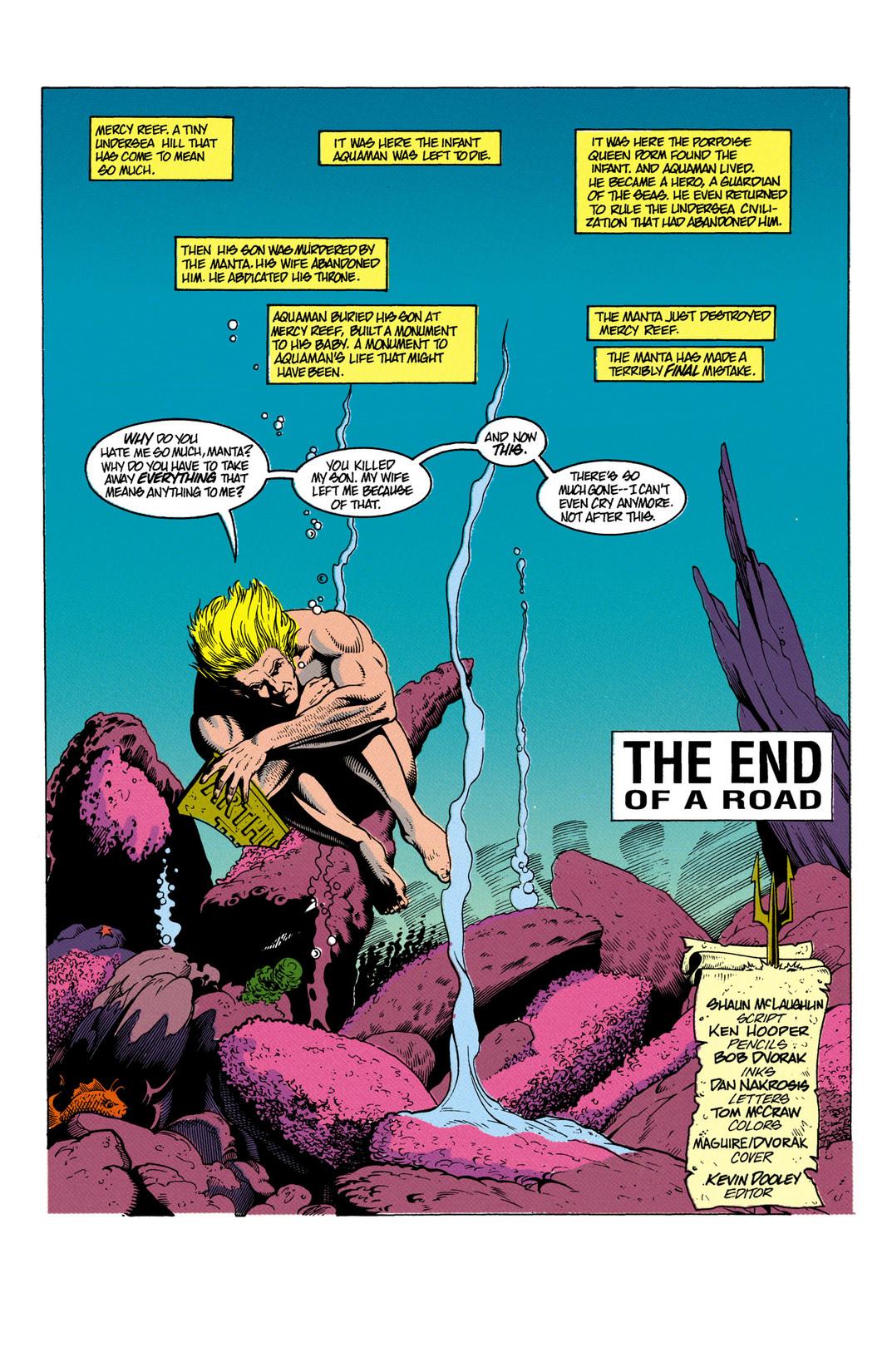 Read online Aquaman (1991) comic -  Issue #6 - 2