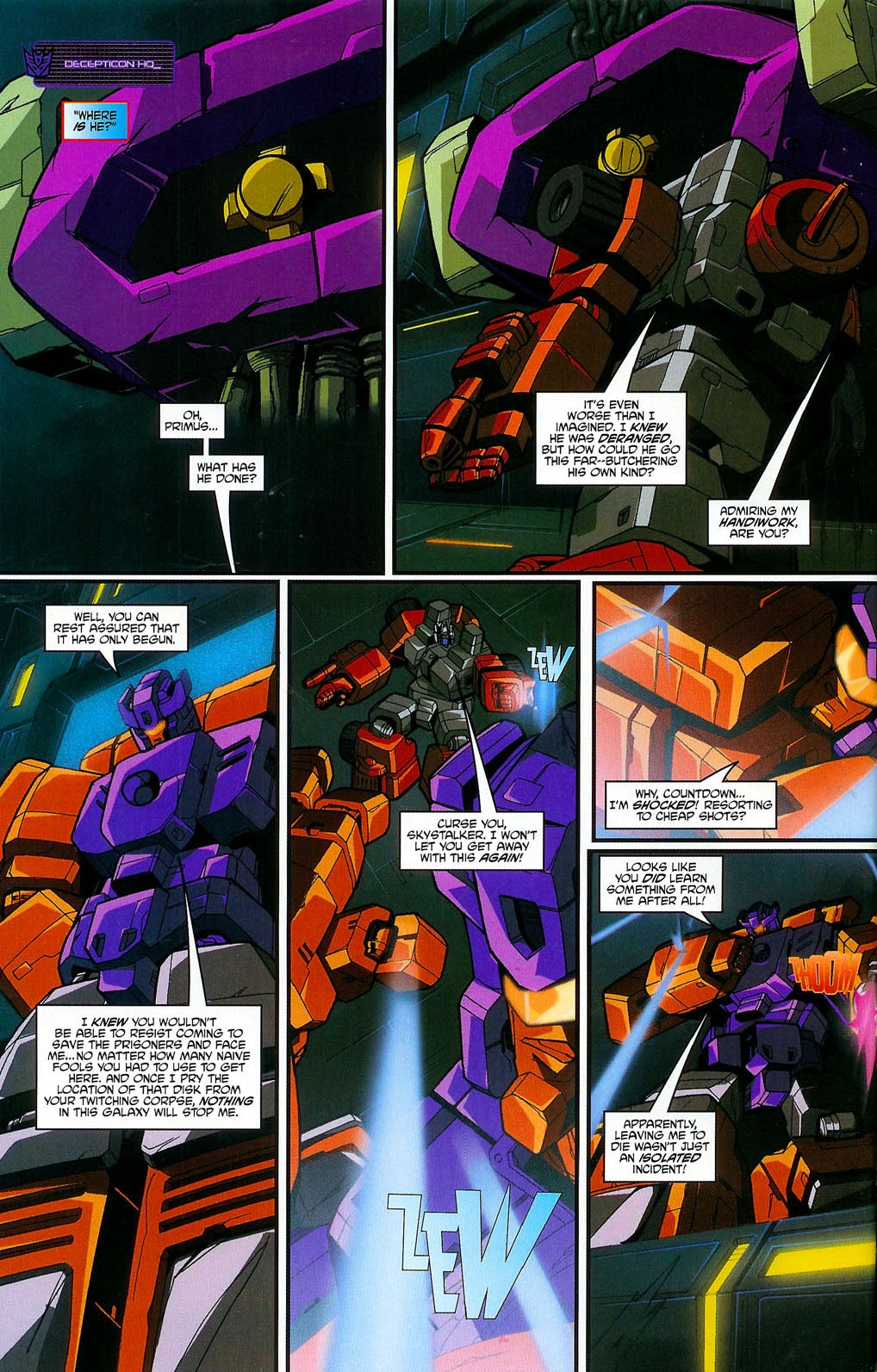 Read online Transformers: Micromasters comic -  Issue #4 - 17