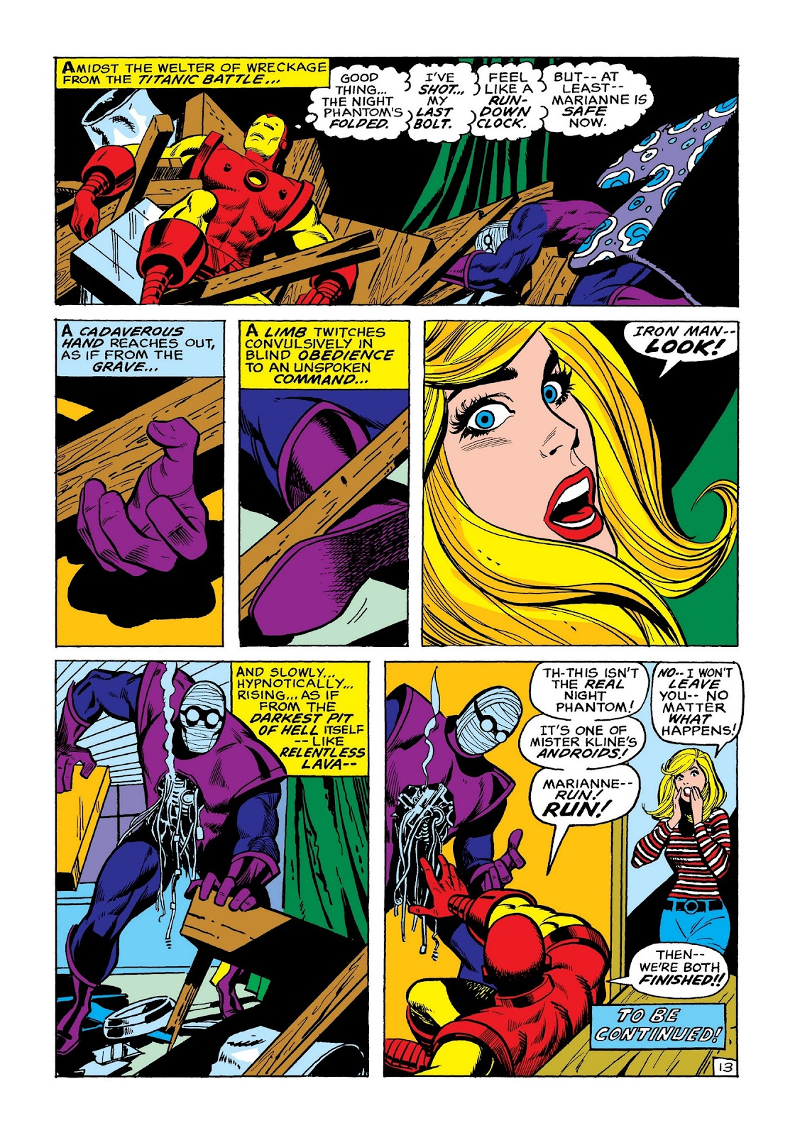 Read online Marvel Masterworks: The Invincible Iron Man comic -  Issue # TPB 8 (Part 2) - 21