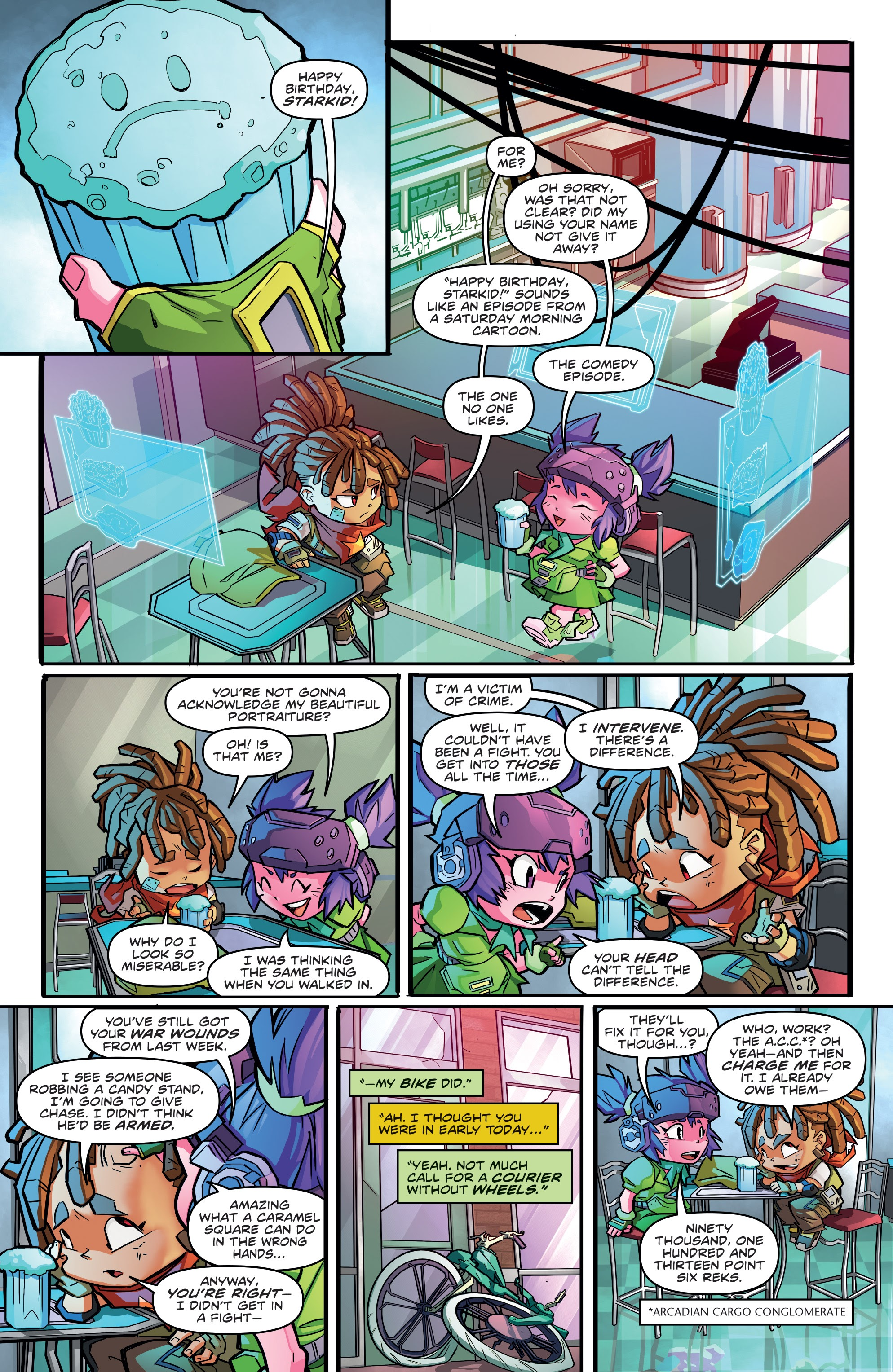 Read online Starcadia Quest comic -  Issue #1 - 7