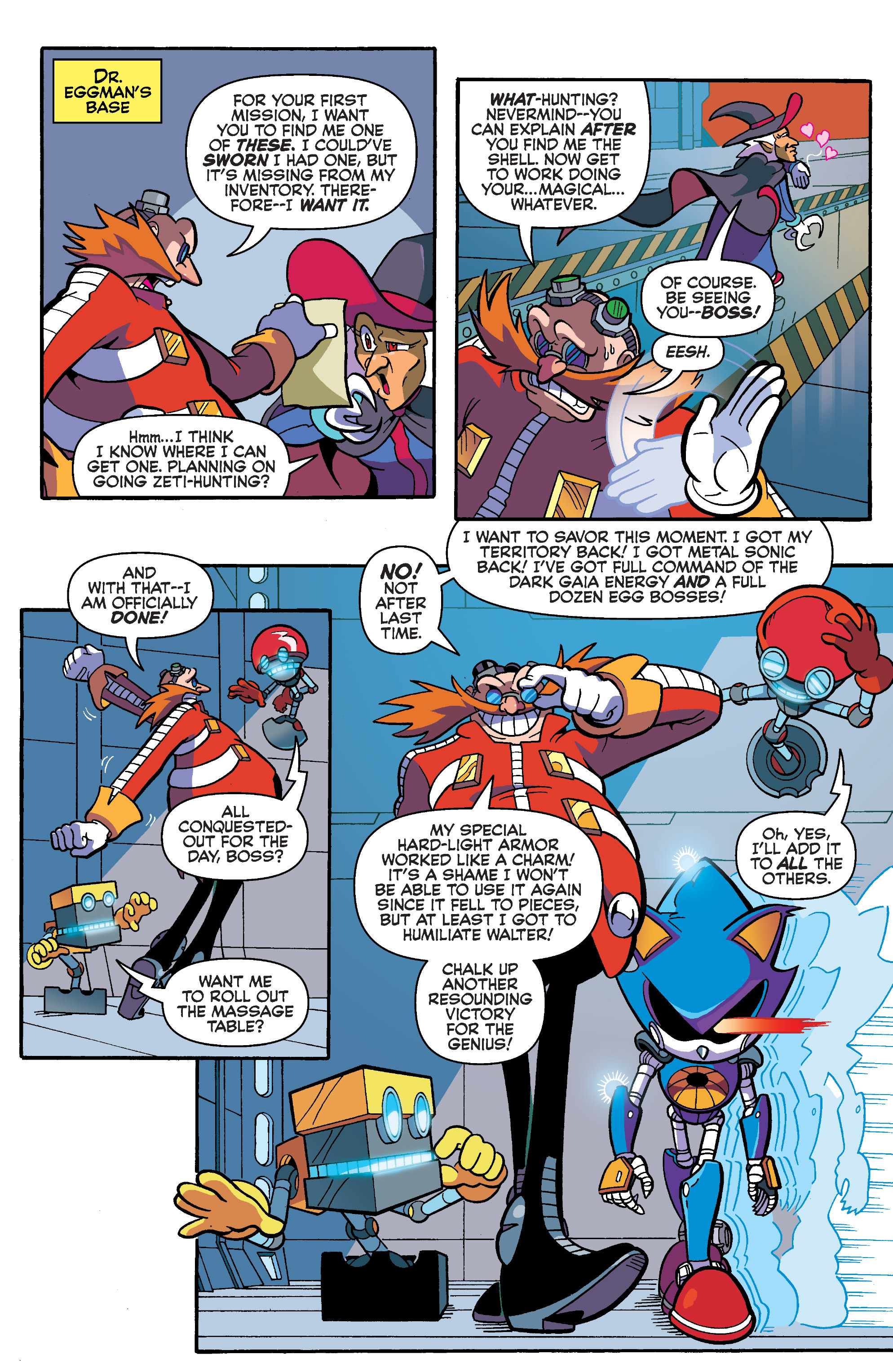 Read online Sonic Universe comic -  Issue #86 - 20