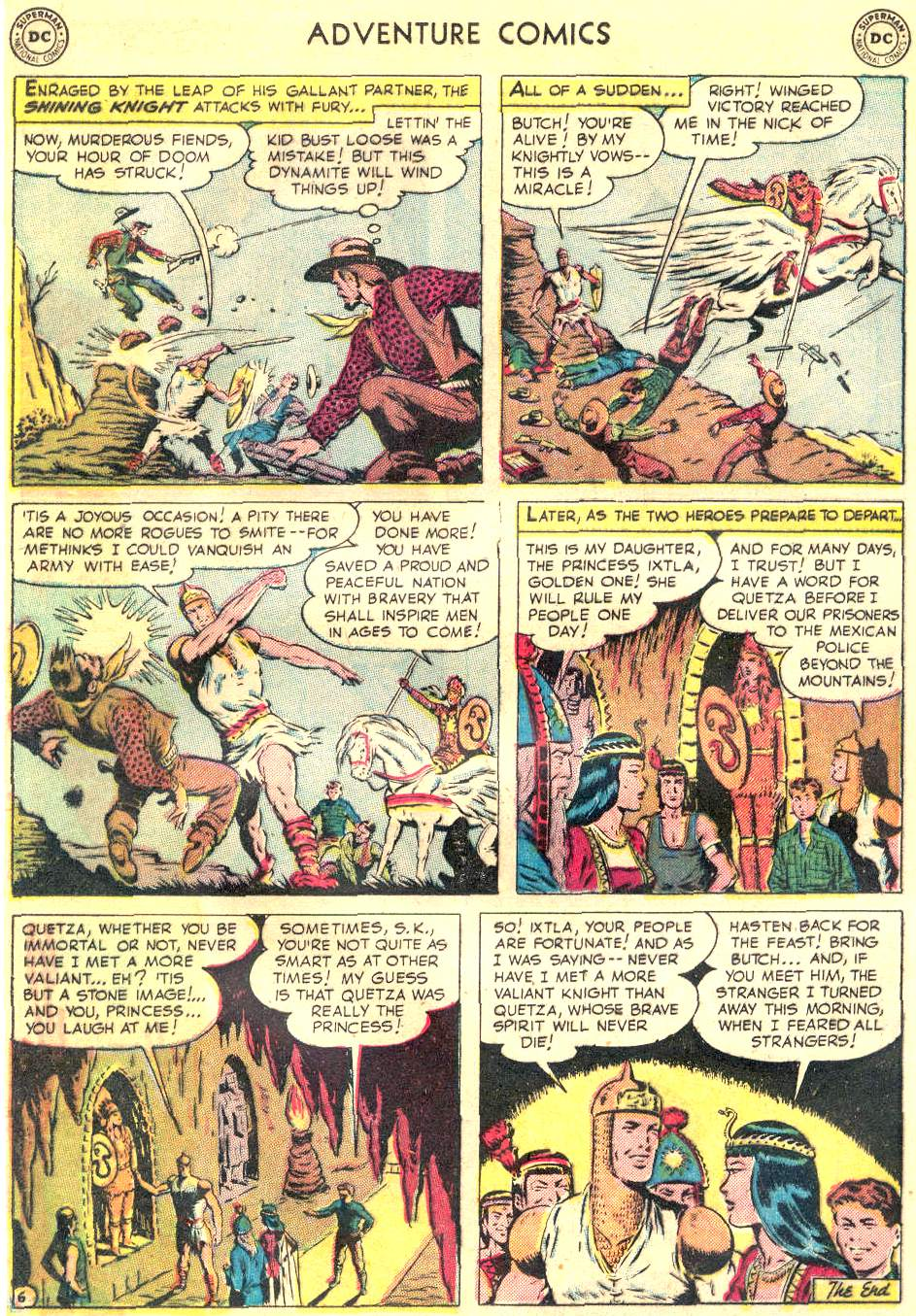 Read online Adventure Comics (1938) comic -  Issue #166 - 19