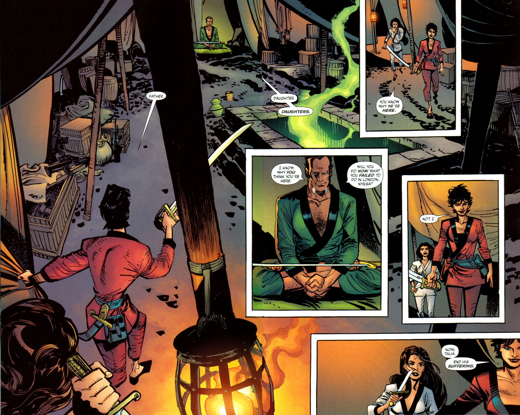 Read online Batman: Death and the Maidens comic -  Issue #8 - 15