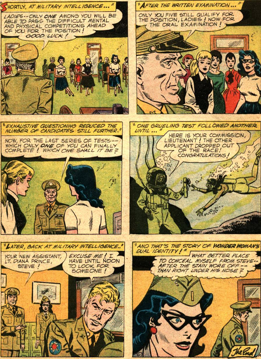 Read online Wonder Woman (1942) comic -  Issue #99 - 32