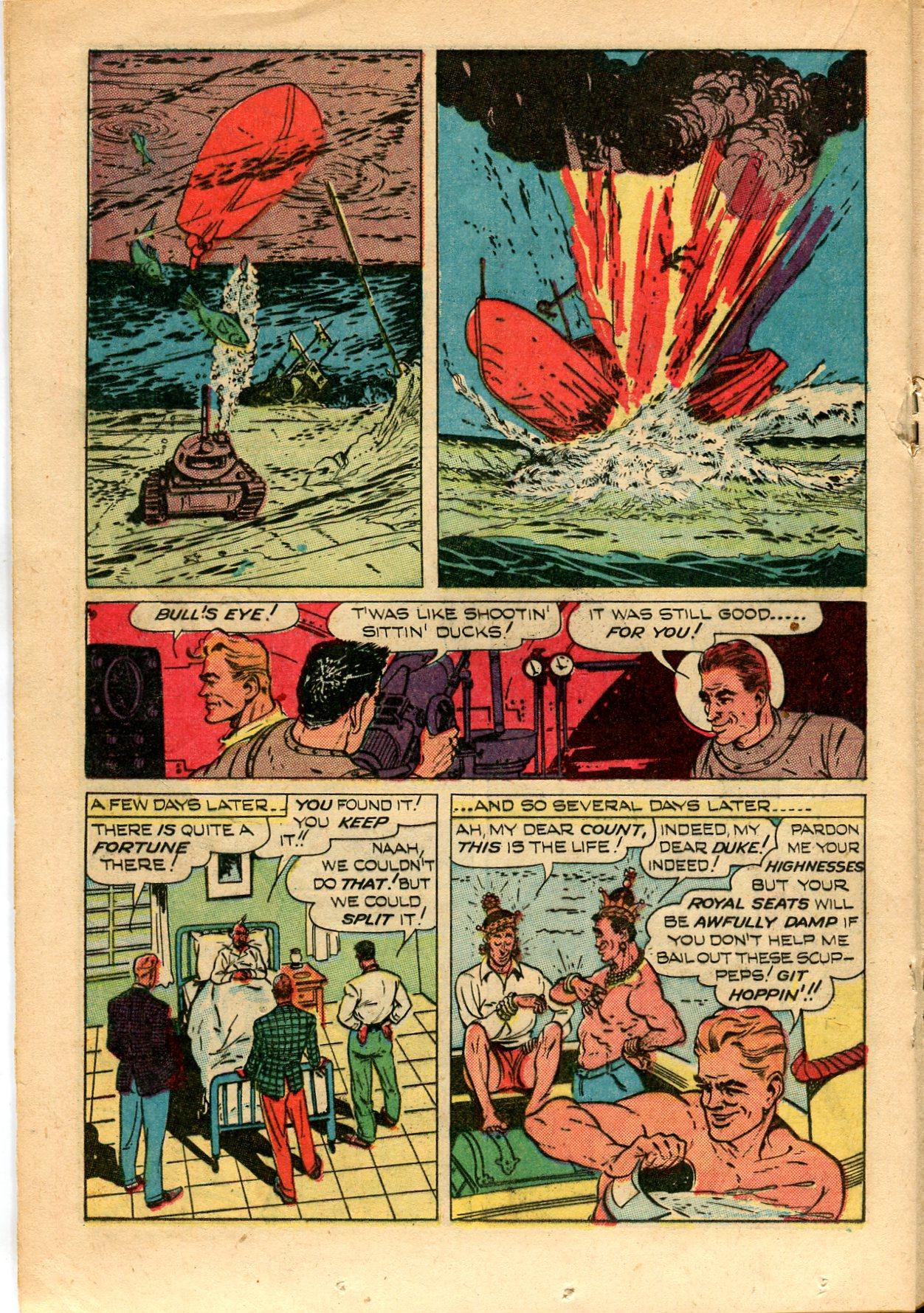Read online Shadow Comics comic -  Issue #82 - 28