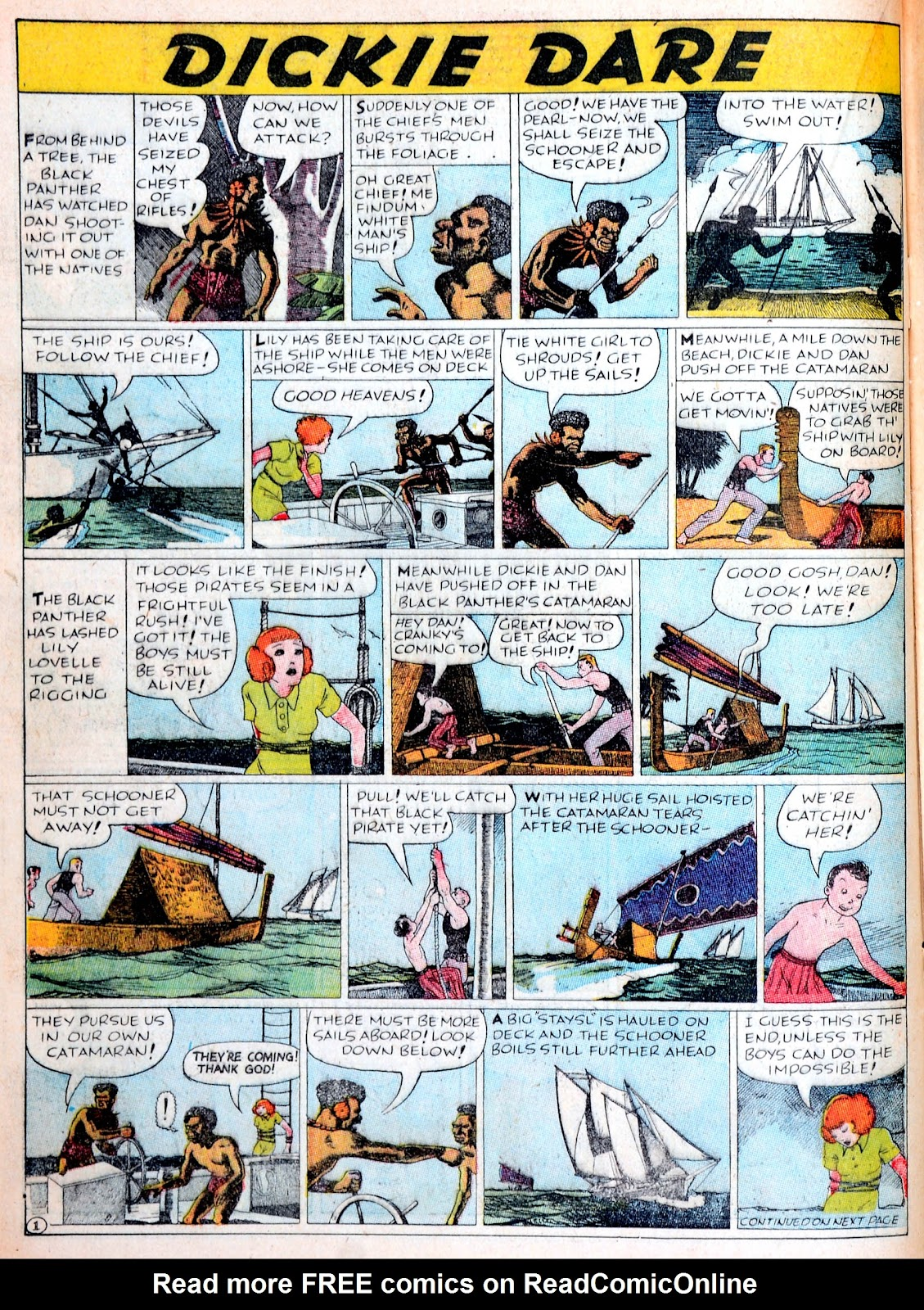 Read online Famous Funnies comic -  Issue #38 - 30