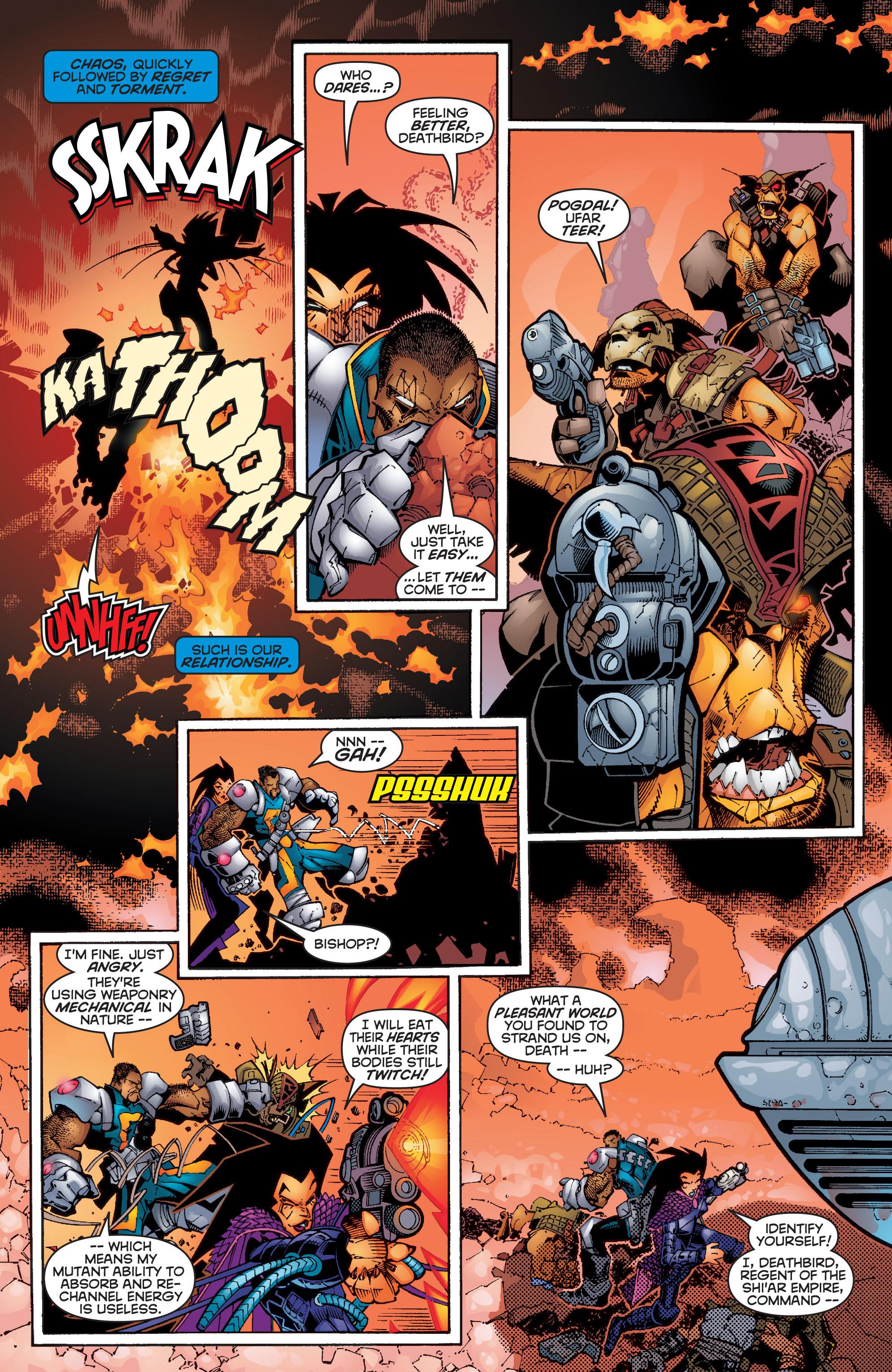 Read online Uncanny X-Men (1963) comic -  Issue #358 - 4