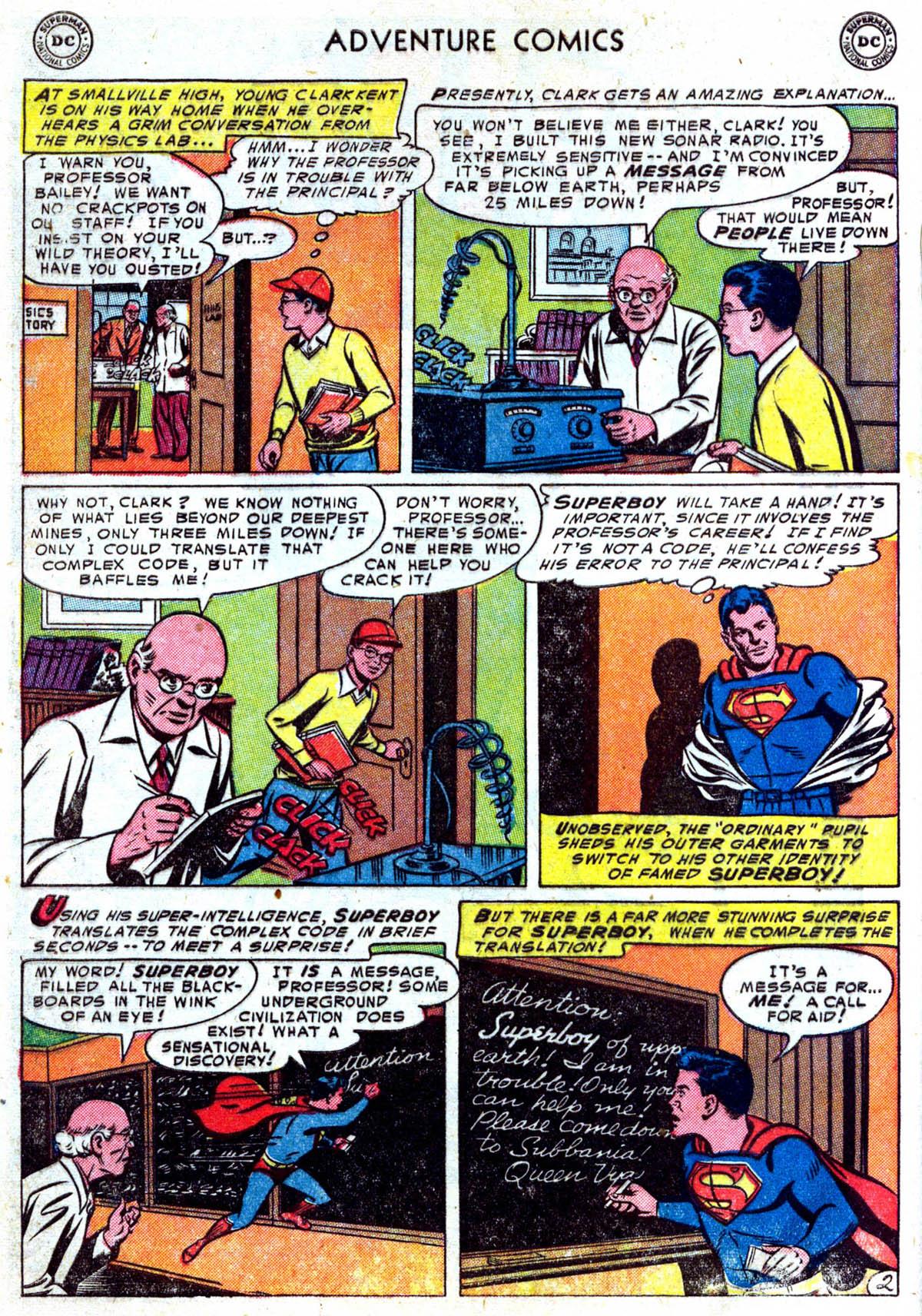 Read online Adventure Comics (1938) comic -  Issue #199 - 3