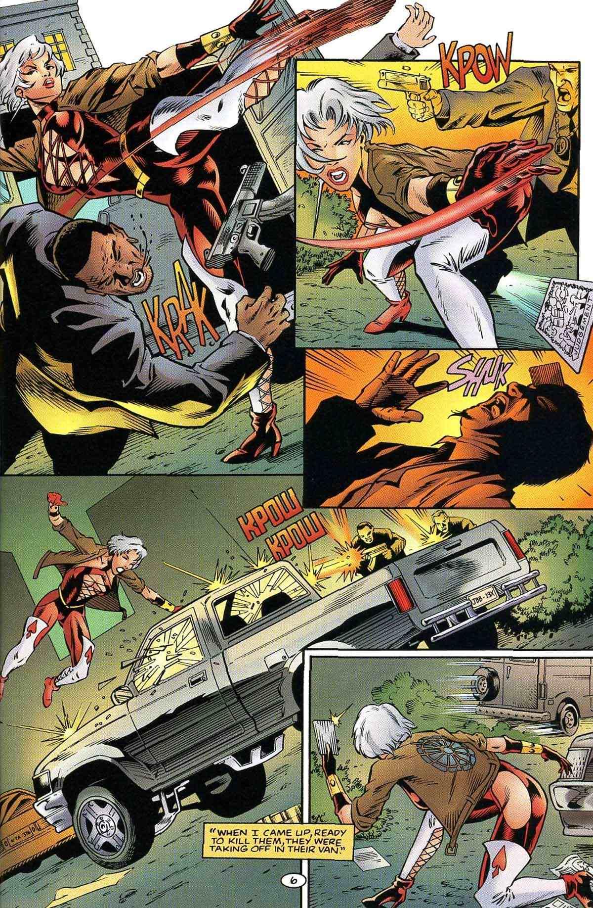 Read online Ultraverse Premiere comic -  Issue #10 - 17