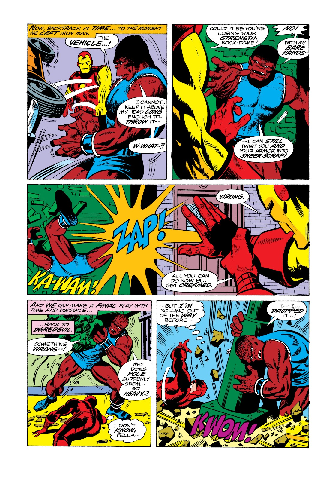 Read online Marvel Masterworks: The Invincible Iron Man comic -  Issue # TPB 11 (Part 2) - 91