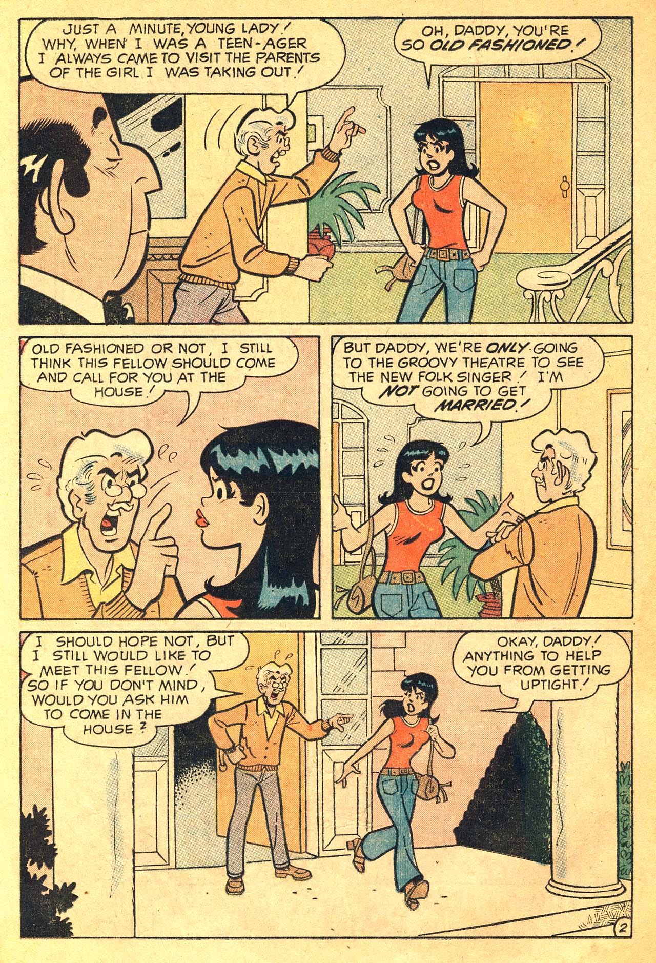 Read online Archie's Girls Betty and Veronica comic -  Issue #210 - 14