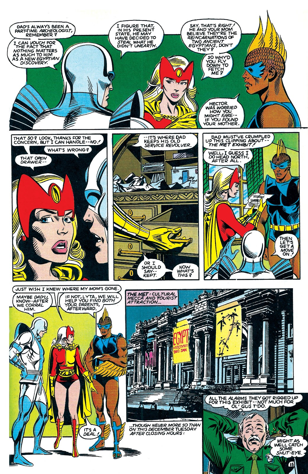 Infinity Inc. (1984) issue 7 - Page 15