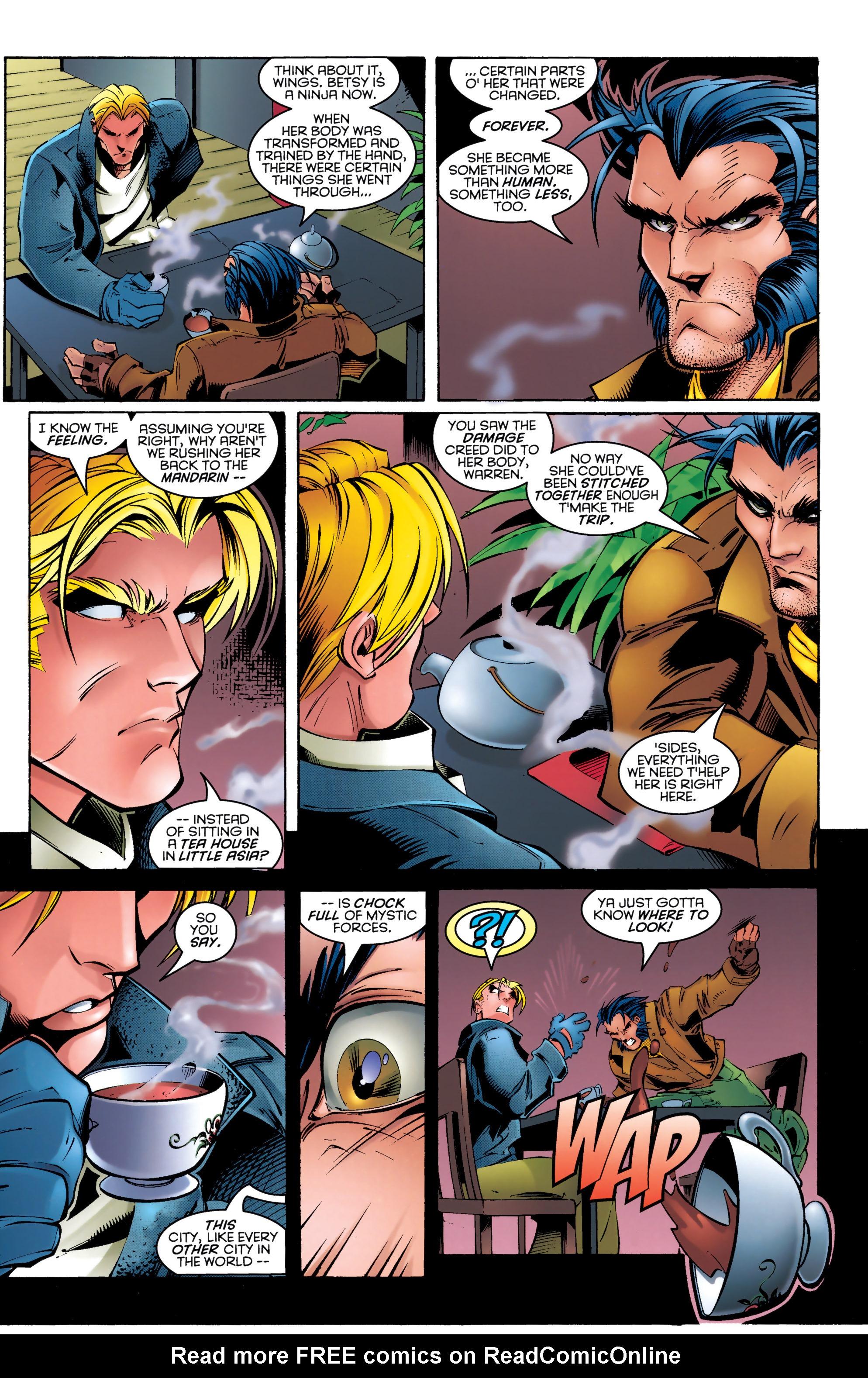 Read online Uncanny X-Men (1963) comic -  Issue #329 - 9