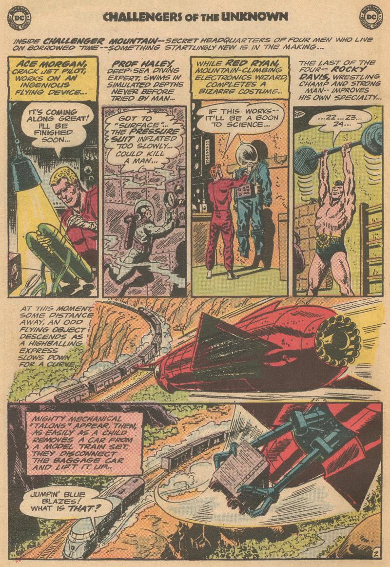 Challengers of the Unknown (1958) issue 40 - Page 4