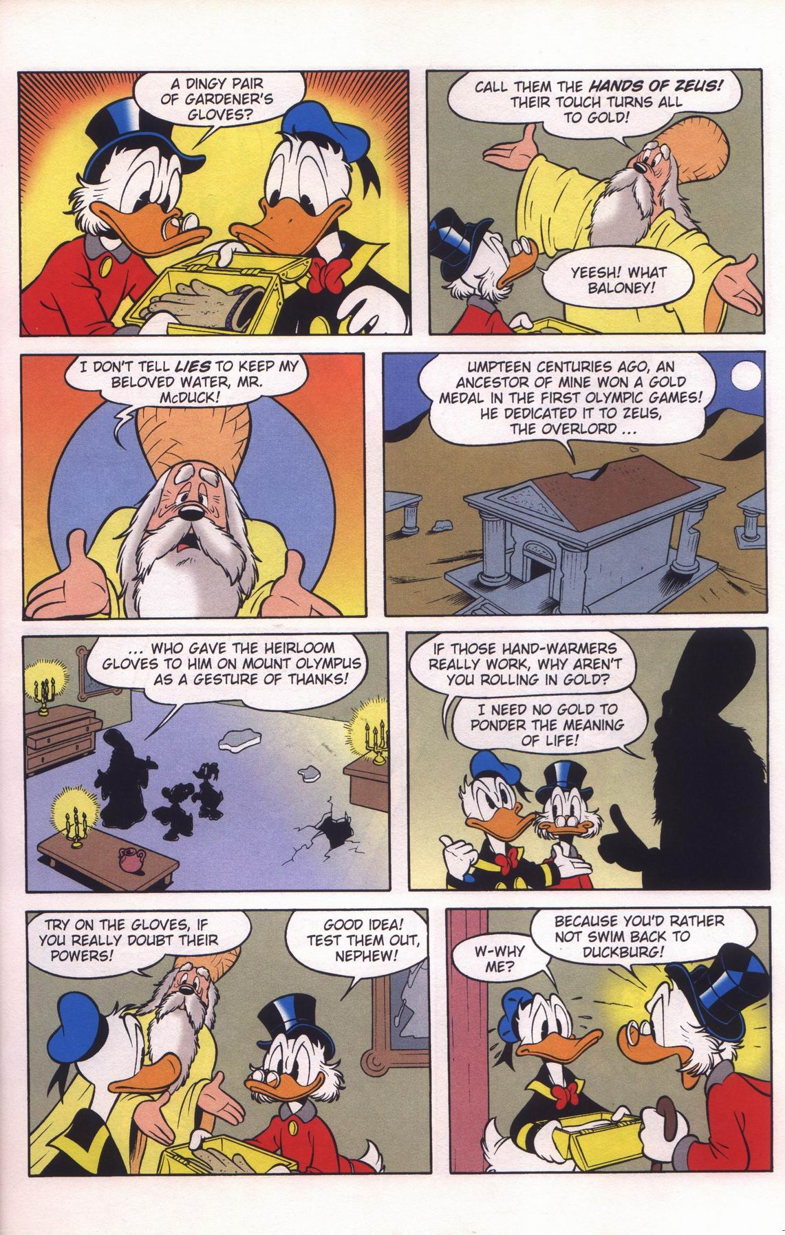 Read online Uncle Scrooge (1953) comic -  Issue #312 - 17