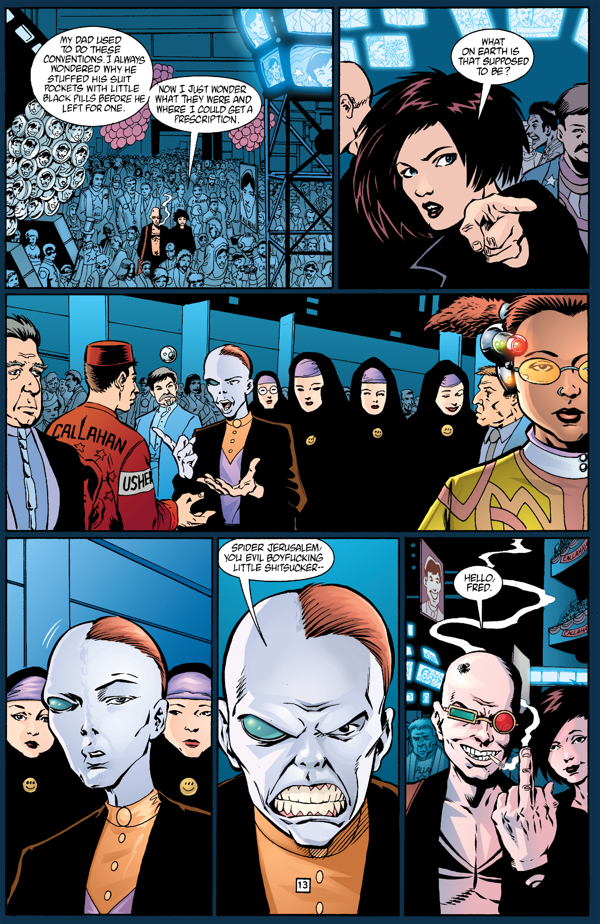 Read online Transmetropolitan comic -  Issue #17 - 14