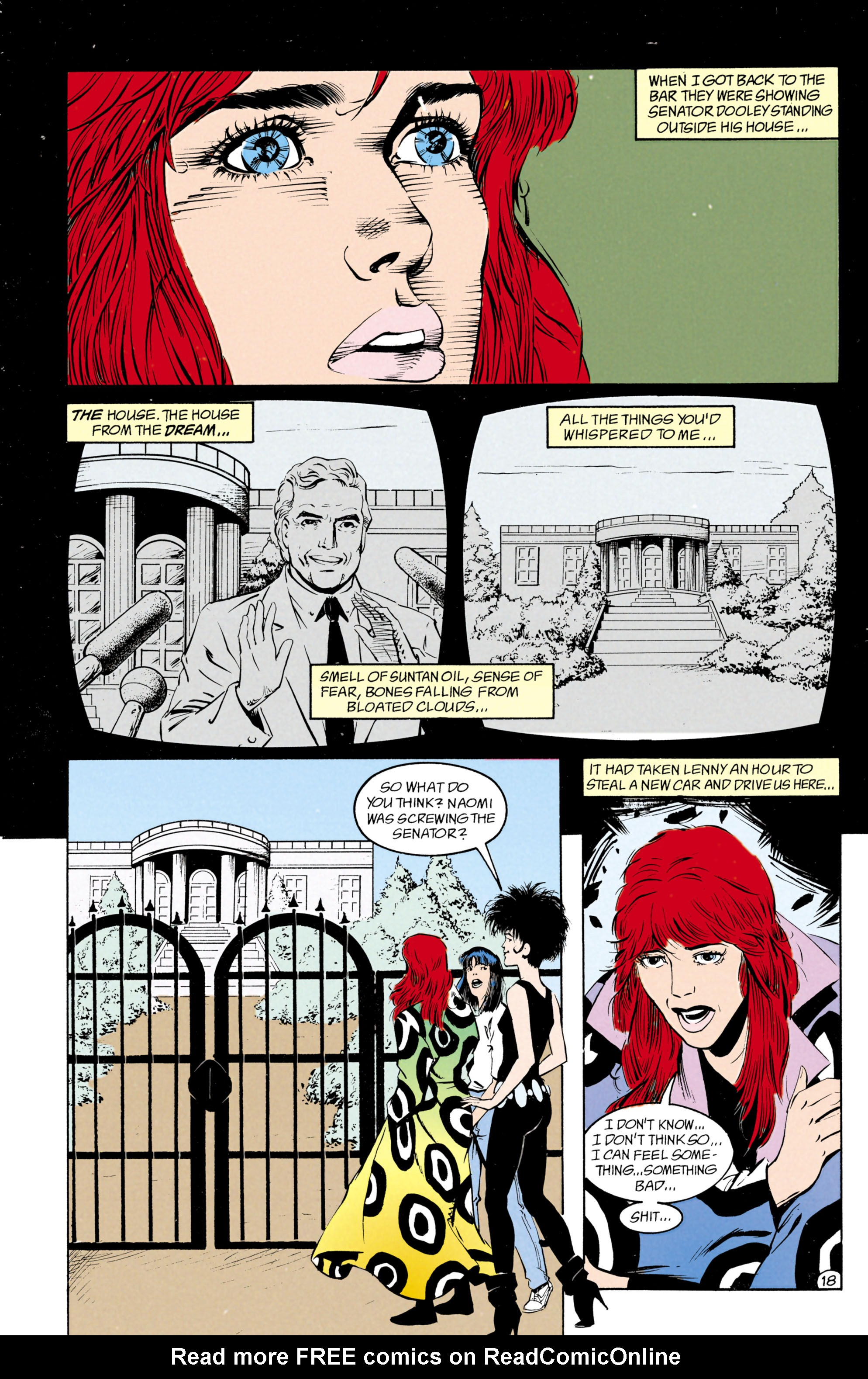 Read online Shade, the Changing Man comic -  Issue #27 - 19