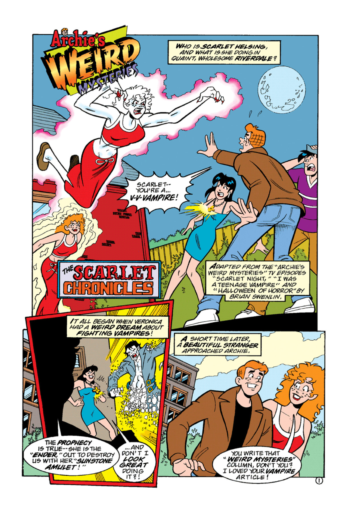 Read online Archie's Weird Mysteries comic -  Issue #10 - 19