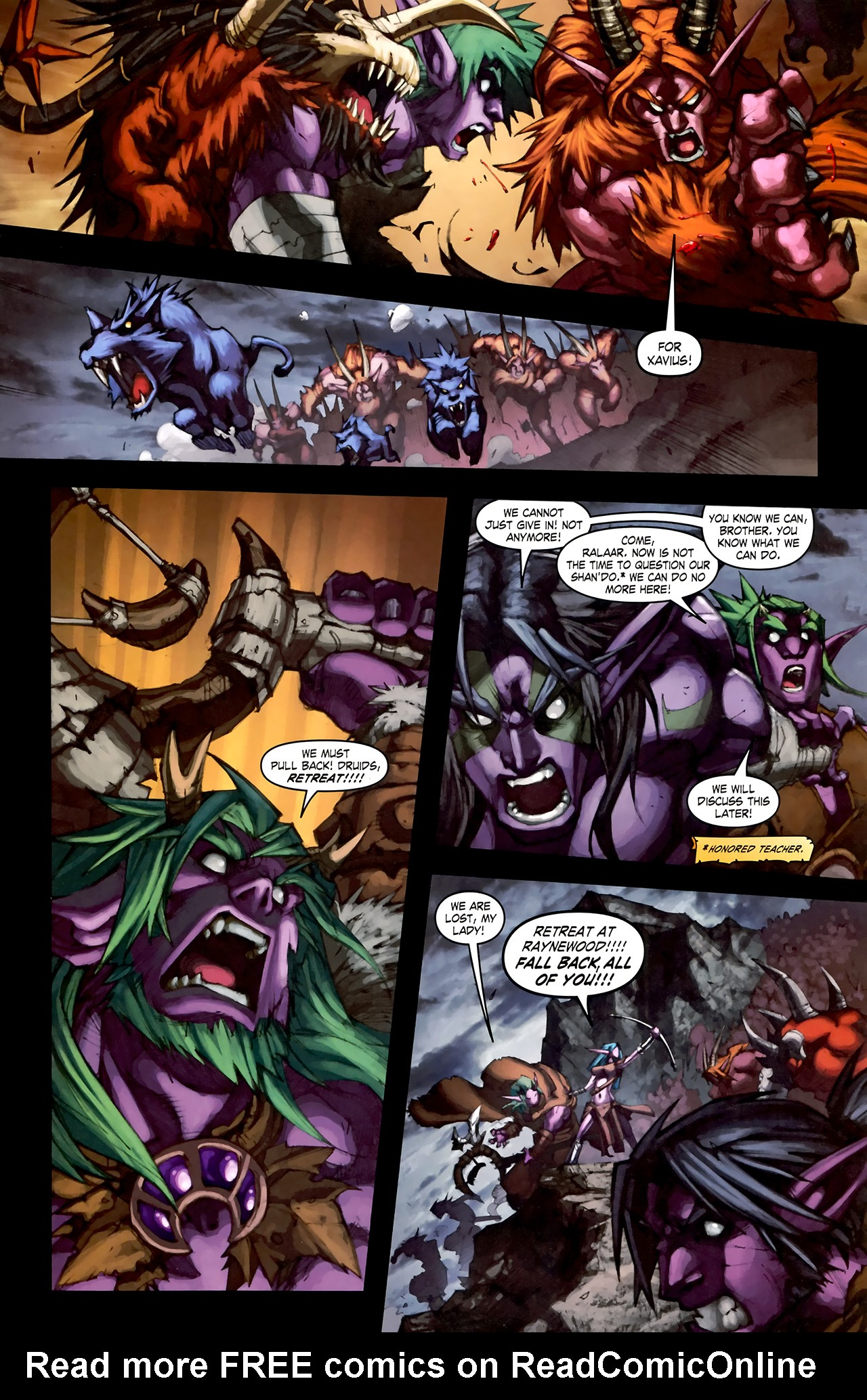 Read online World of Warcraft: Curse of the Worgen comic -  Issue #1 - 25