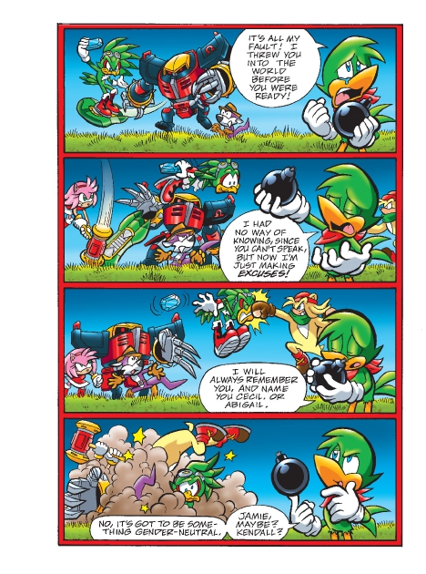 Read online Sonic Comics Spectacular: Speed of Sound comic -  Issue # Full - 203