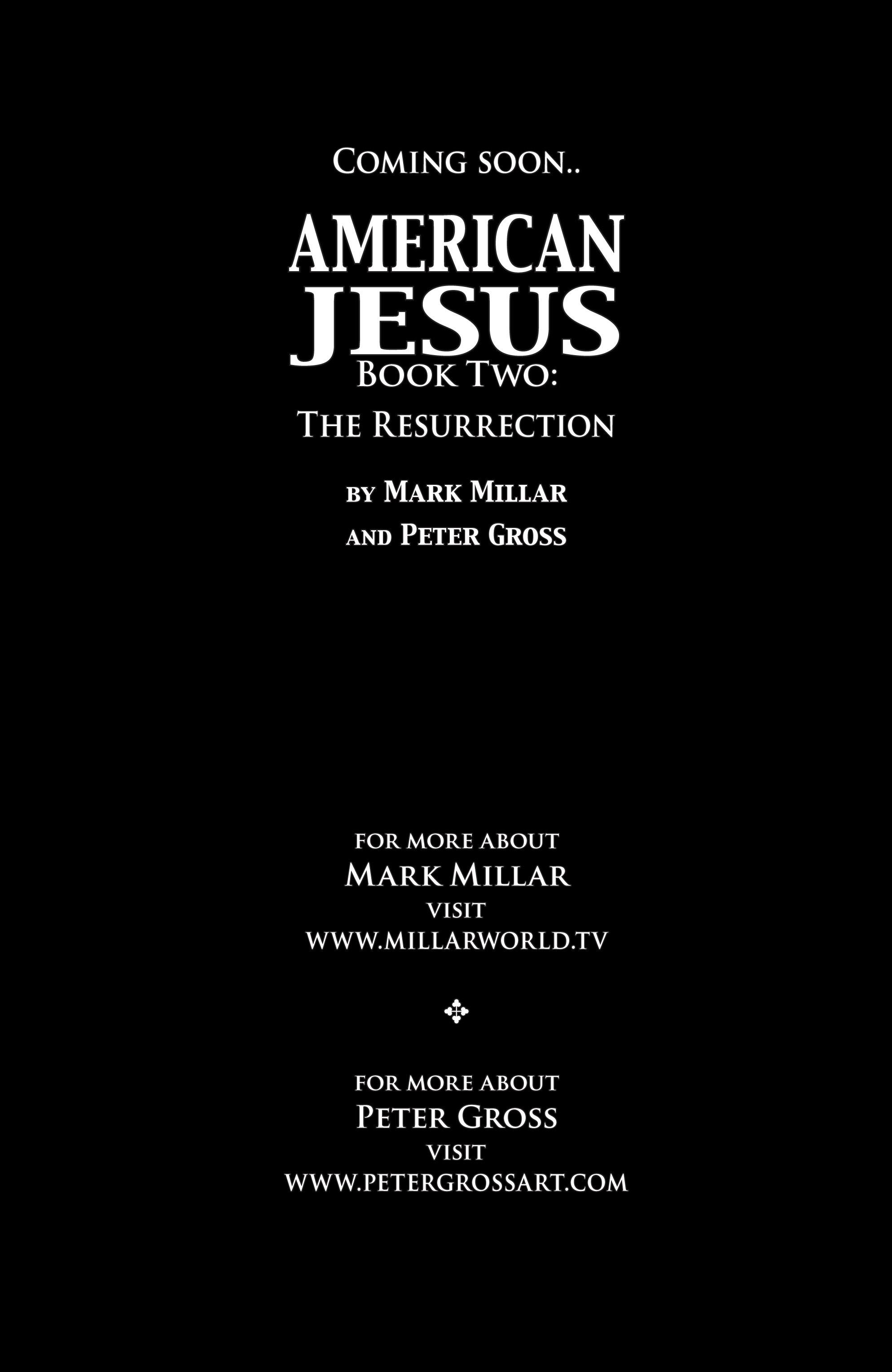 Read online American Jesus comic -  Issue # TPB - 98
