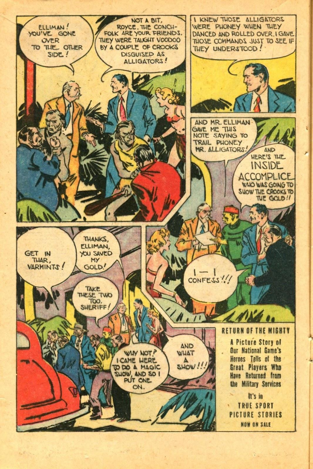 Read online Super-Magician Comics comic -  Issue #49 - 16