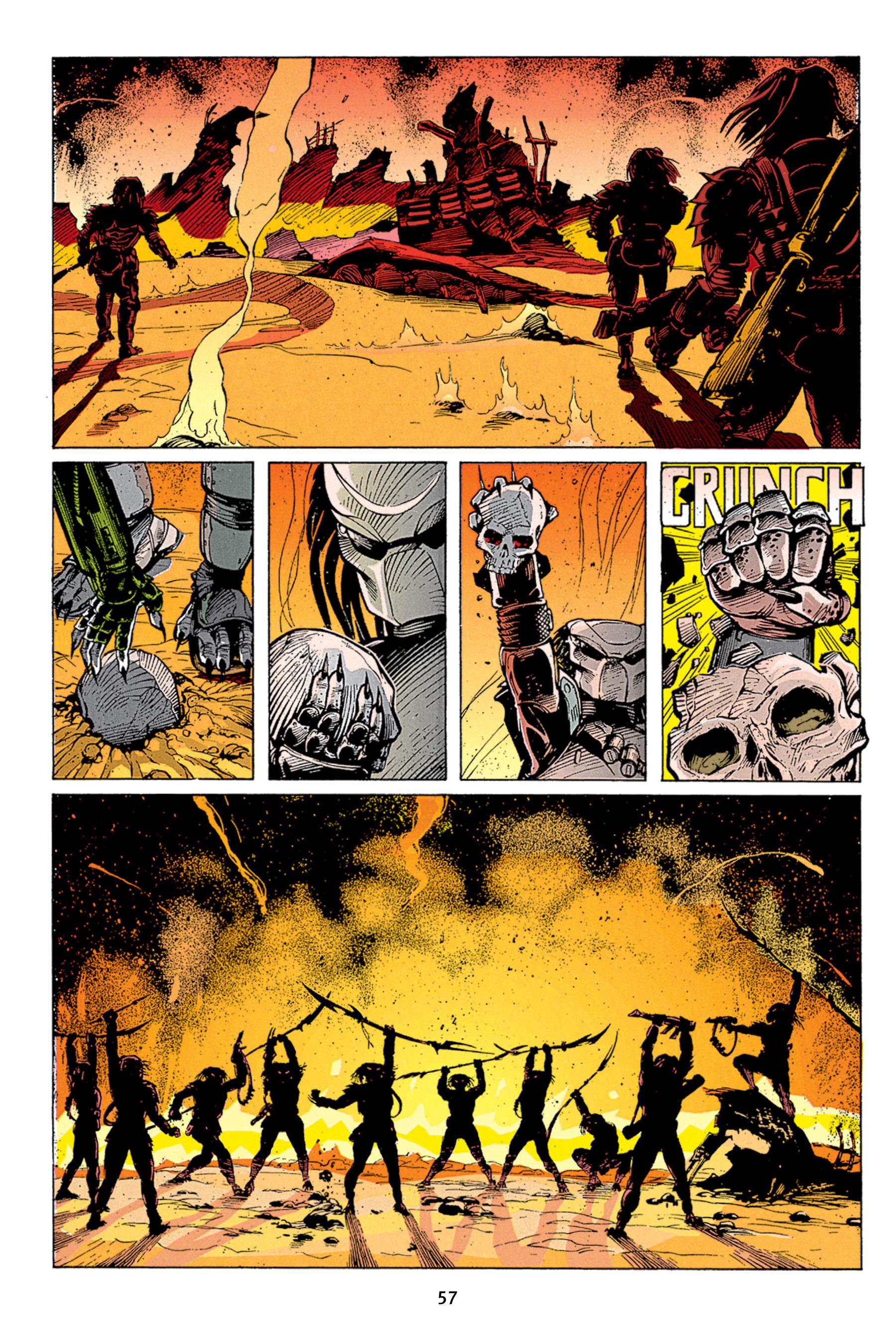 Read online Aliens vs. Predator Omnibus comic -  Issue # _TPB 1 Part 1 - 57