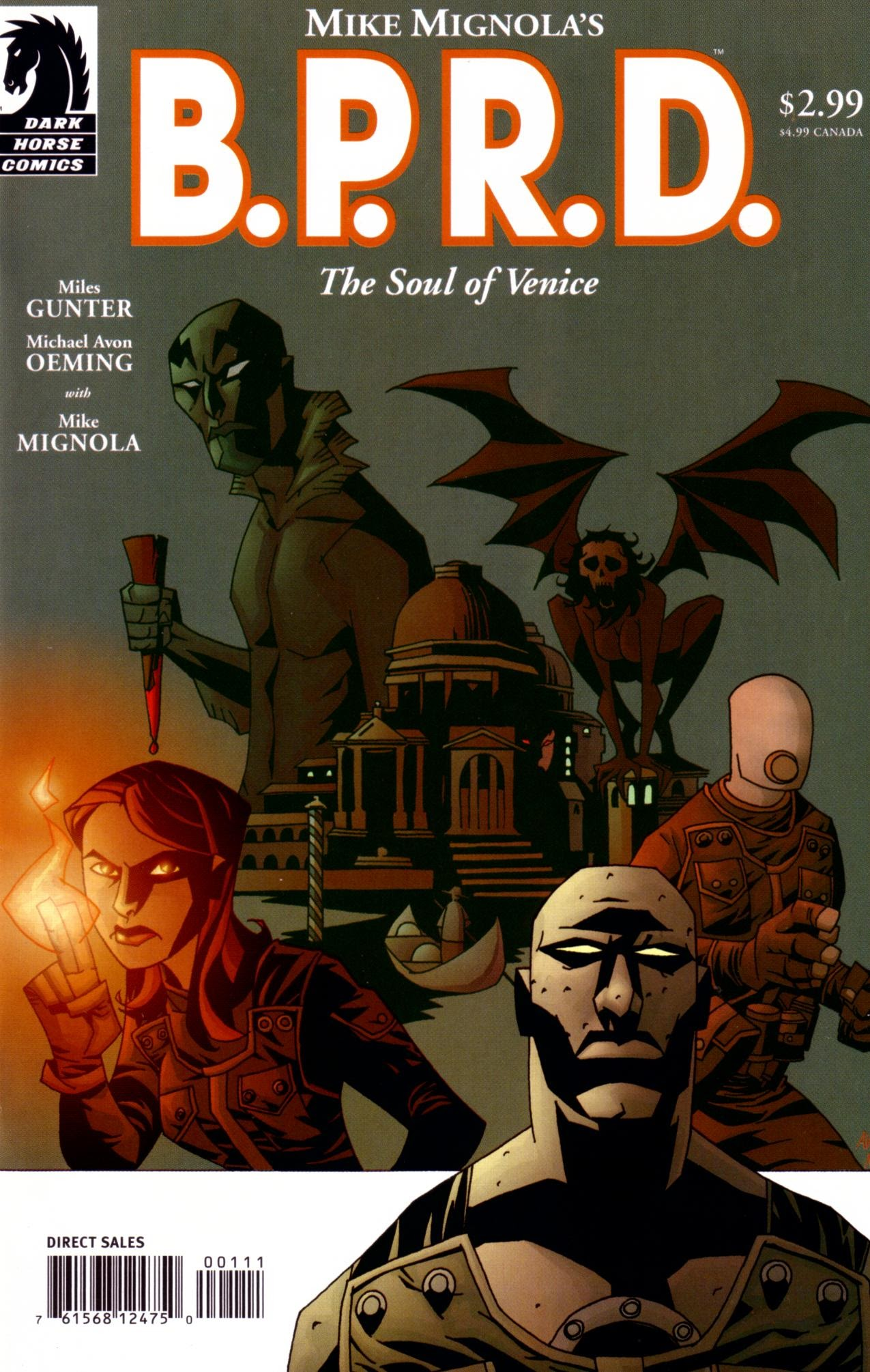 B.P.R.D.: The Soul of Venice Full Page 1