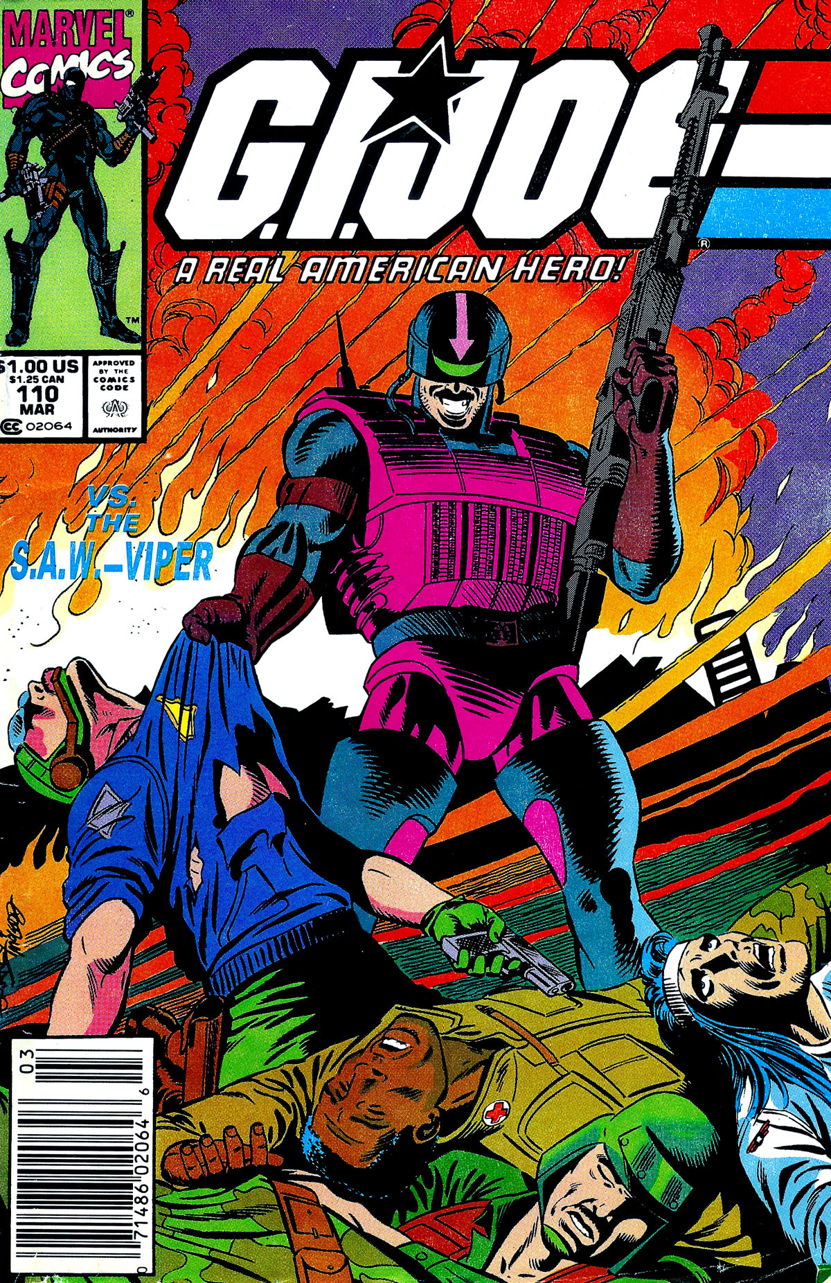G.I. Joe: A Real American Hero 110 Page 1