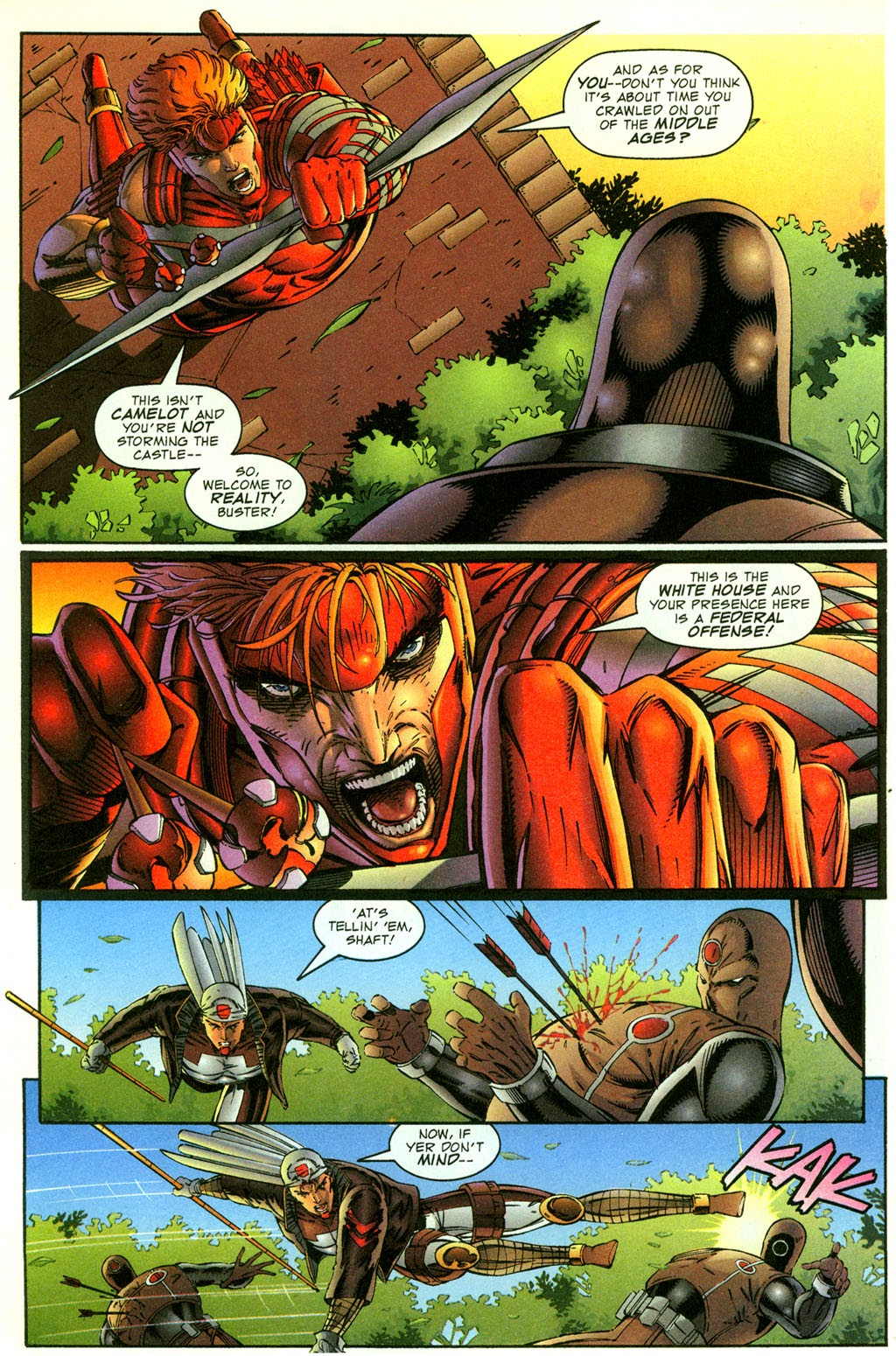 Read online Youngblood GT Interactive Ultra Game Players Special Edition comic -  Issue # Full - 16