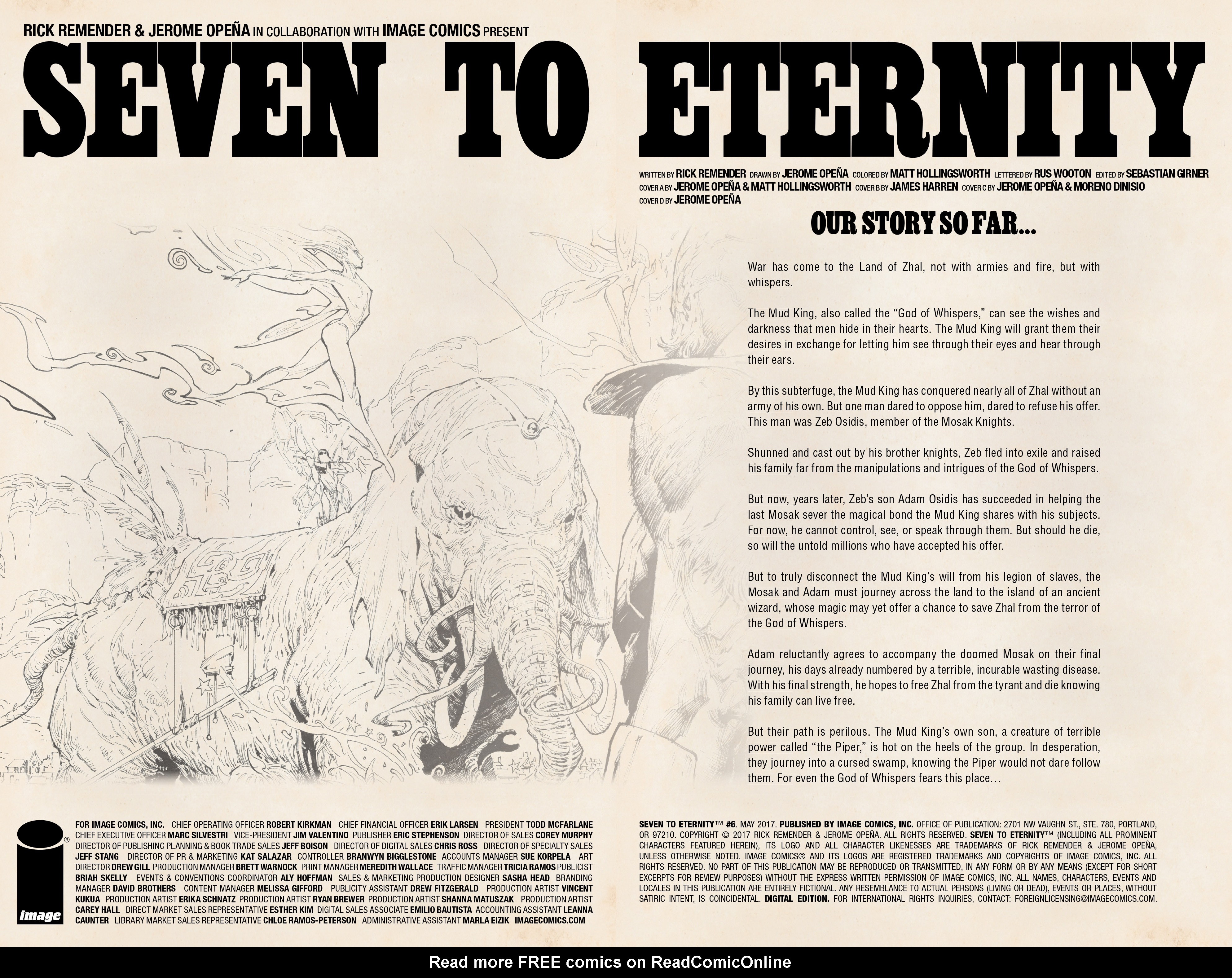 Read online Seven To Eternity comic -  Issue #6 - 4