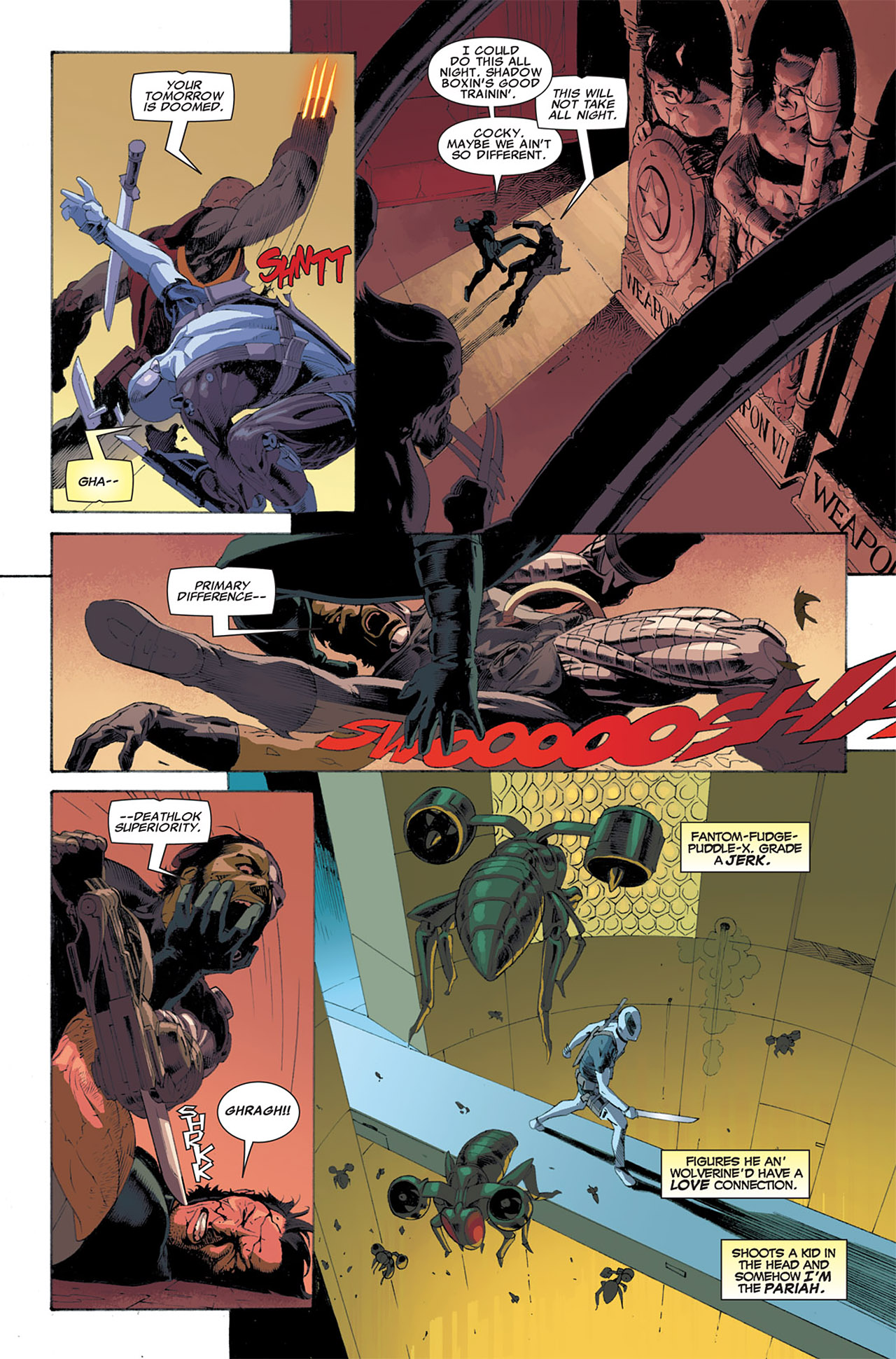 Read online Uncanny X-Force (2010) comic -  Issue #7 - 10