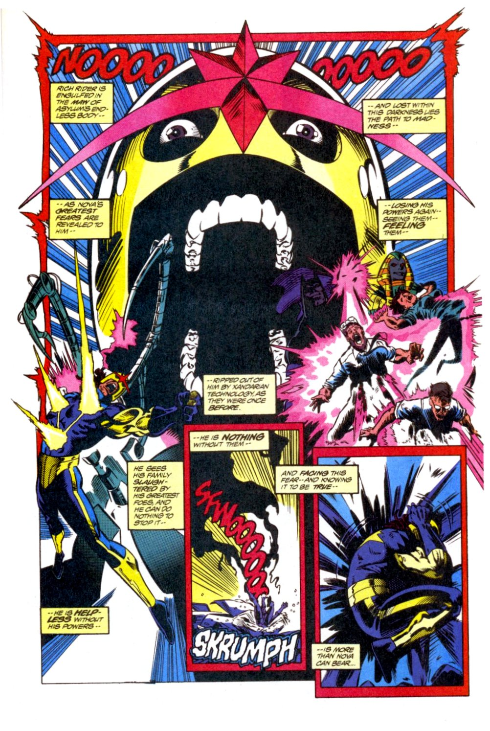 The New Warriors Issue #40 #44 - English 7