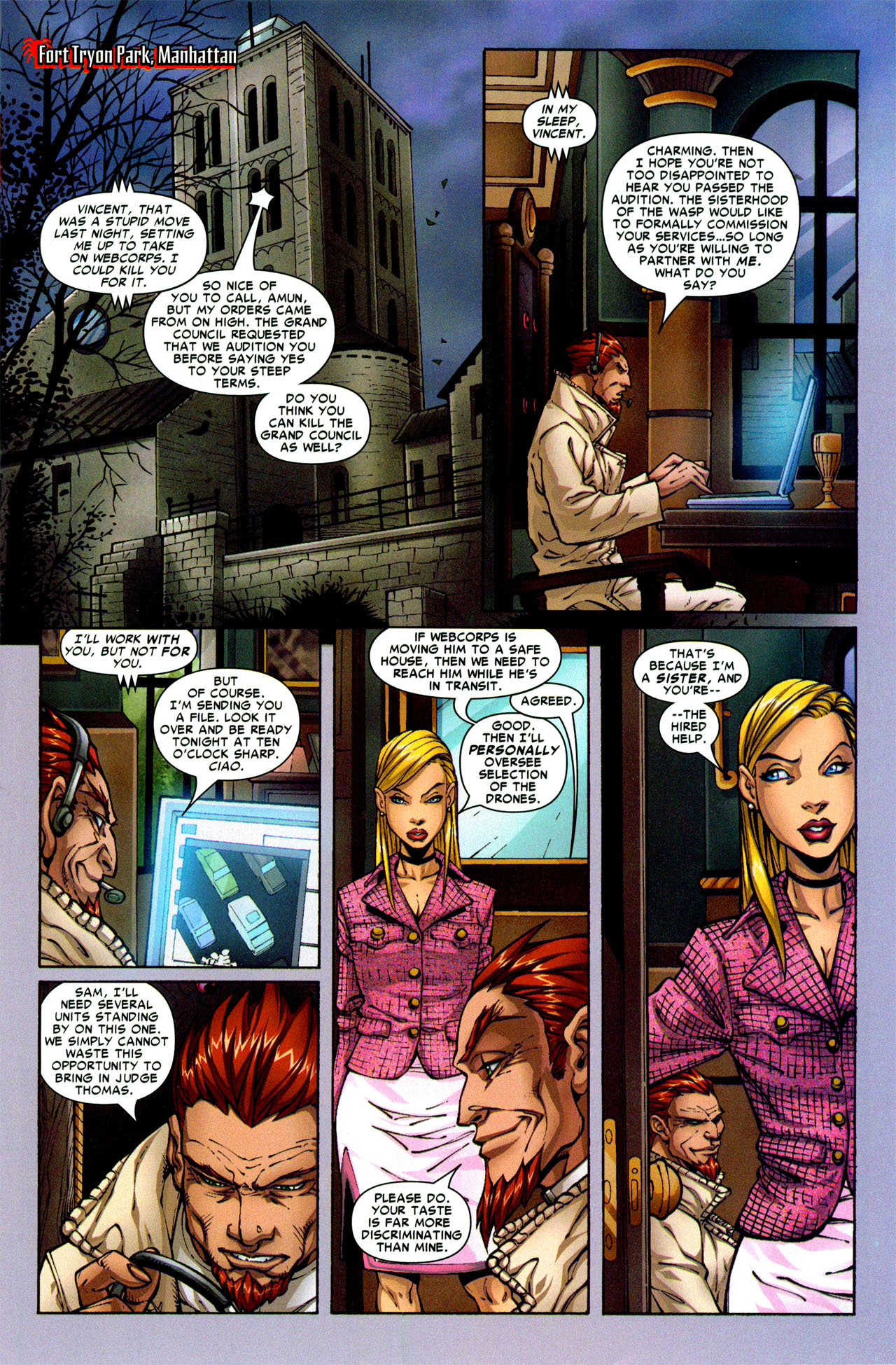 Read online Araña: Heart of the Spider comic -  Issue #3 - 8