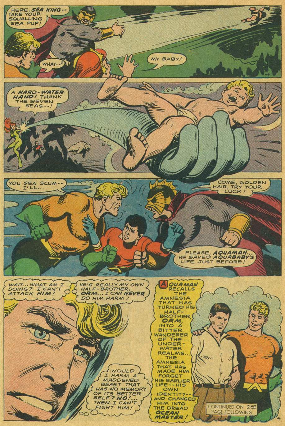 Read online Aquaman (1962) comic -  Issue #37 - 6